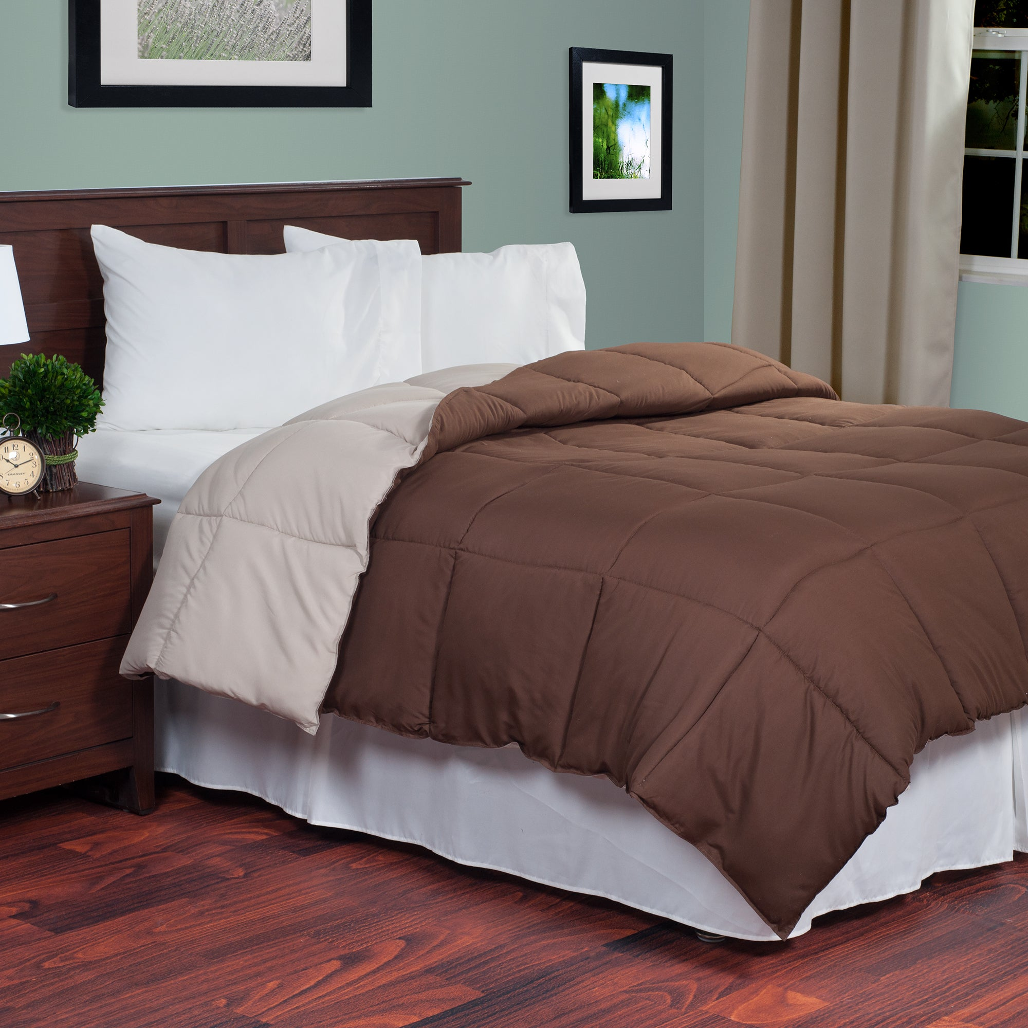 artemis shipping classics bedding overstock set piece ainsley reversible free today comforter alternative product bath creek vcny embossed down laurel home