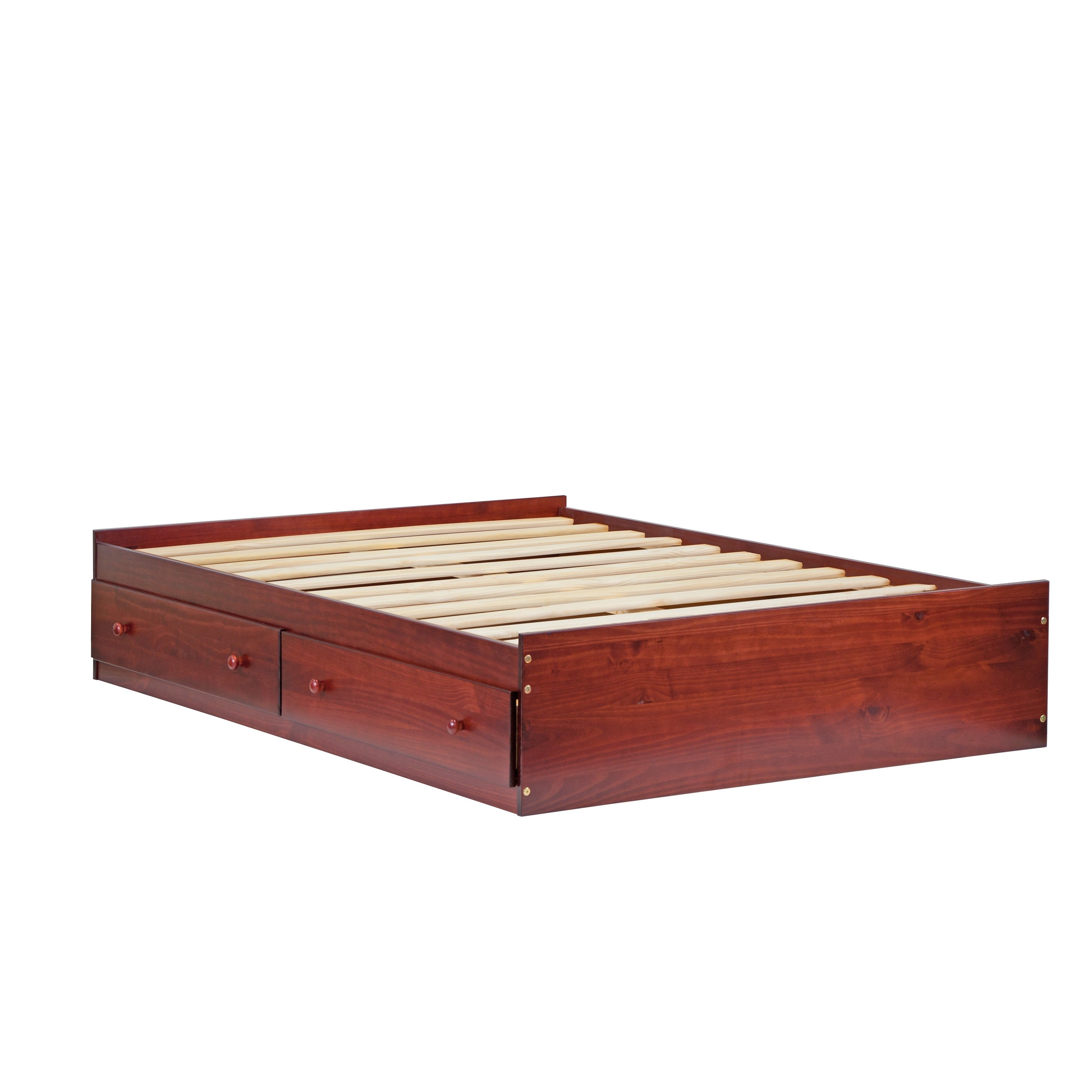 Kansas Solid Wood Mate S Storage Bed Full Size By Palace Imports Free Shipping Today 9667247