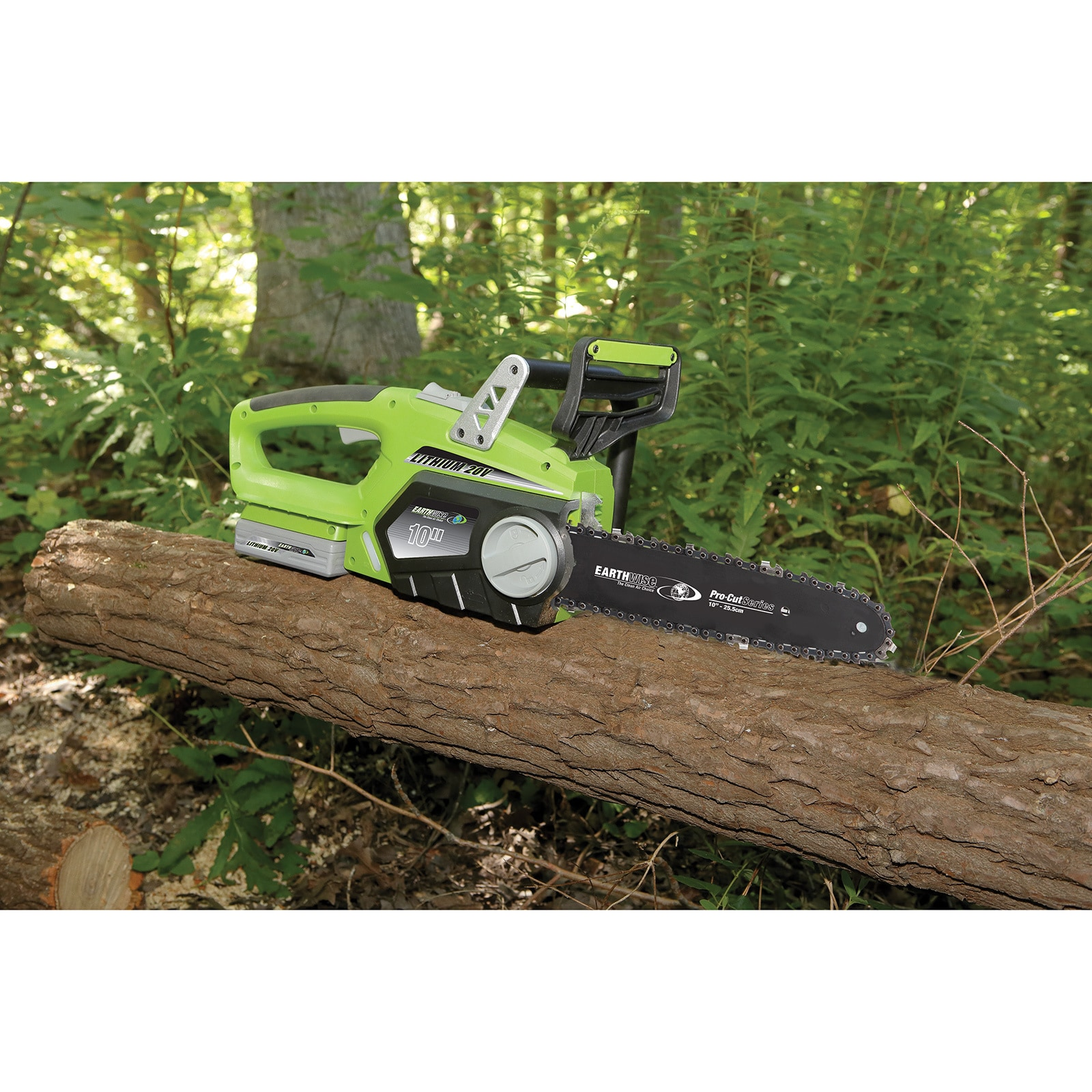 Earthwise 10 inch cordless 20 volt lithium ion chain saw free earthwise 10 inch cordless 20 volt lithium ion chain saw free shipping today overstock 16848944 greentooth