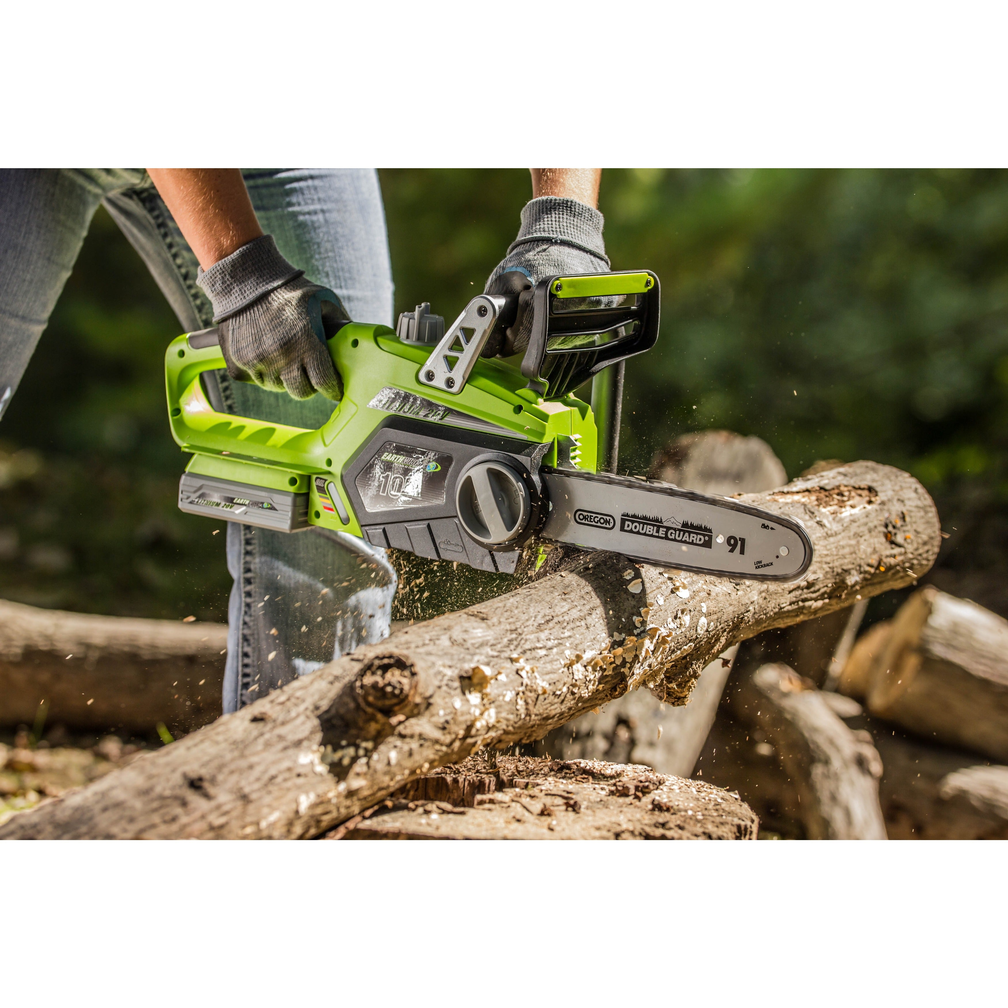 Earthwise 10 inch cordless 20 volt lithium ion chain saw free earthwise 10 inch cordless 20 volt lithium ion chain saw free shipping today overstock 16848944 greentooth Gallery