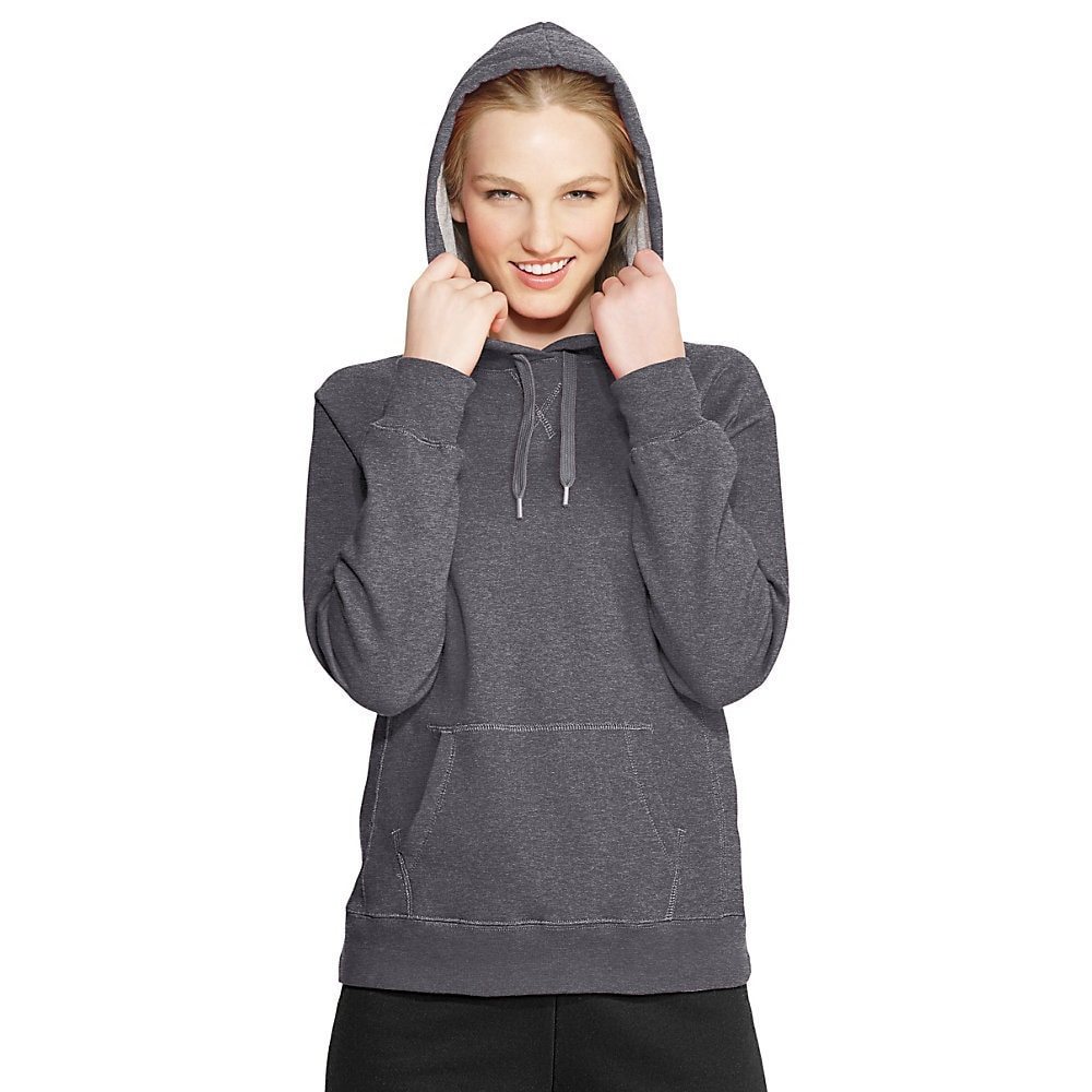 0a3e2b1b Shop Champion Women's Eco Fleece Pullover Hoodie - Free Shipping On ...