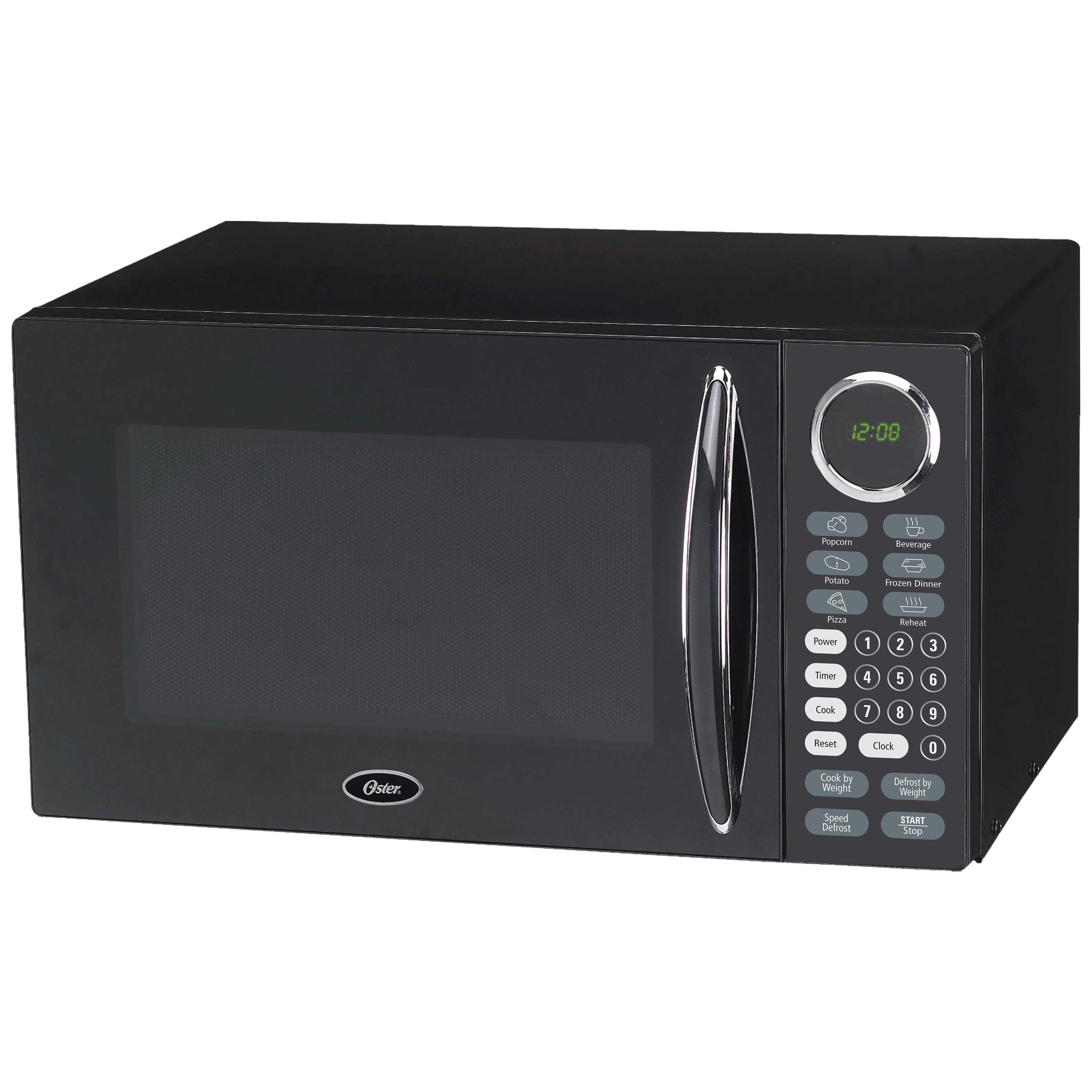 Oster Black 0 9 Cubic Foot Digital Microwave Oven Free Shipping Today 9672126