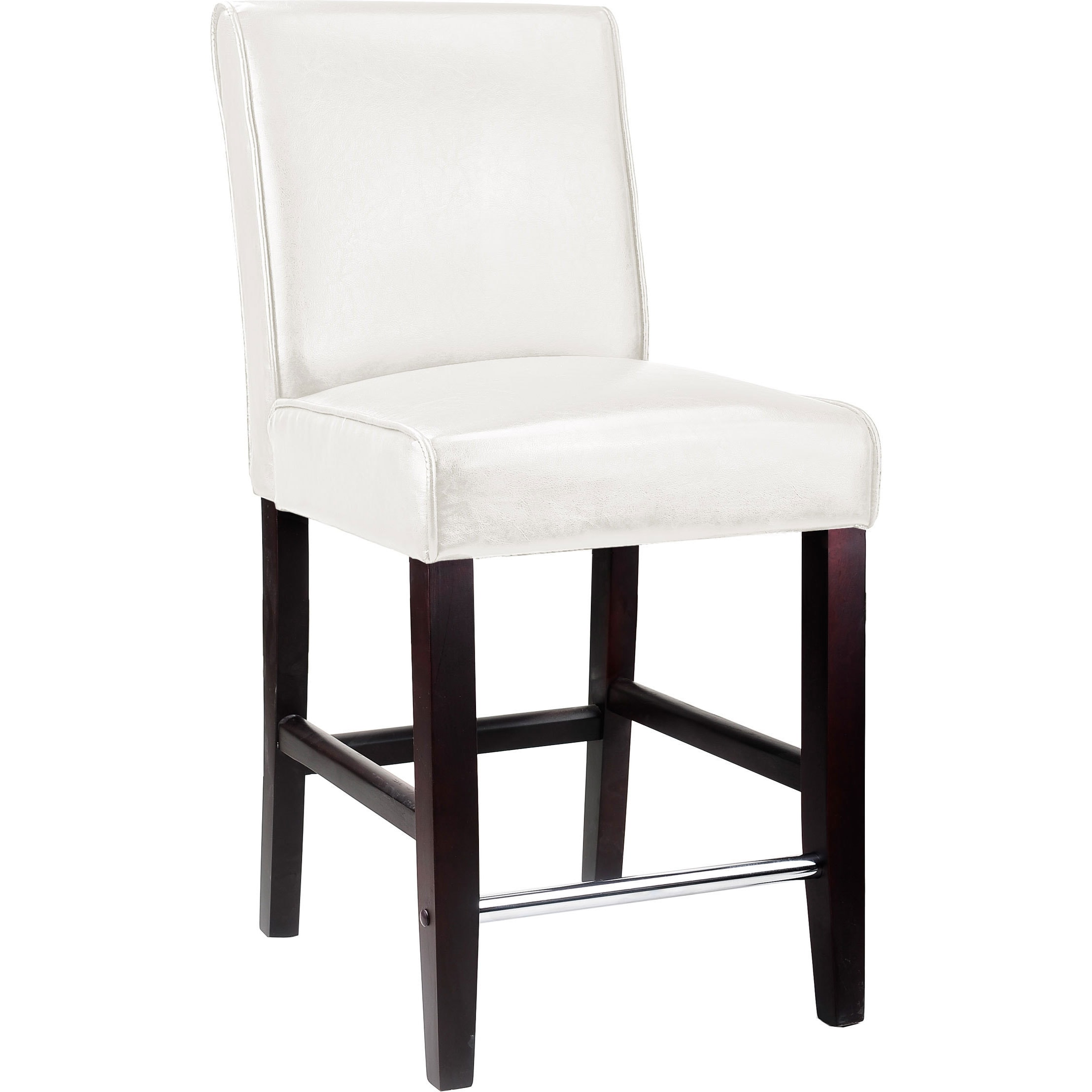 Shop CorLiving Antonio Bonded Leather Counter Height Bar Stool   Free  Shipping Today   Overstock.com   9672853