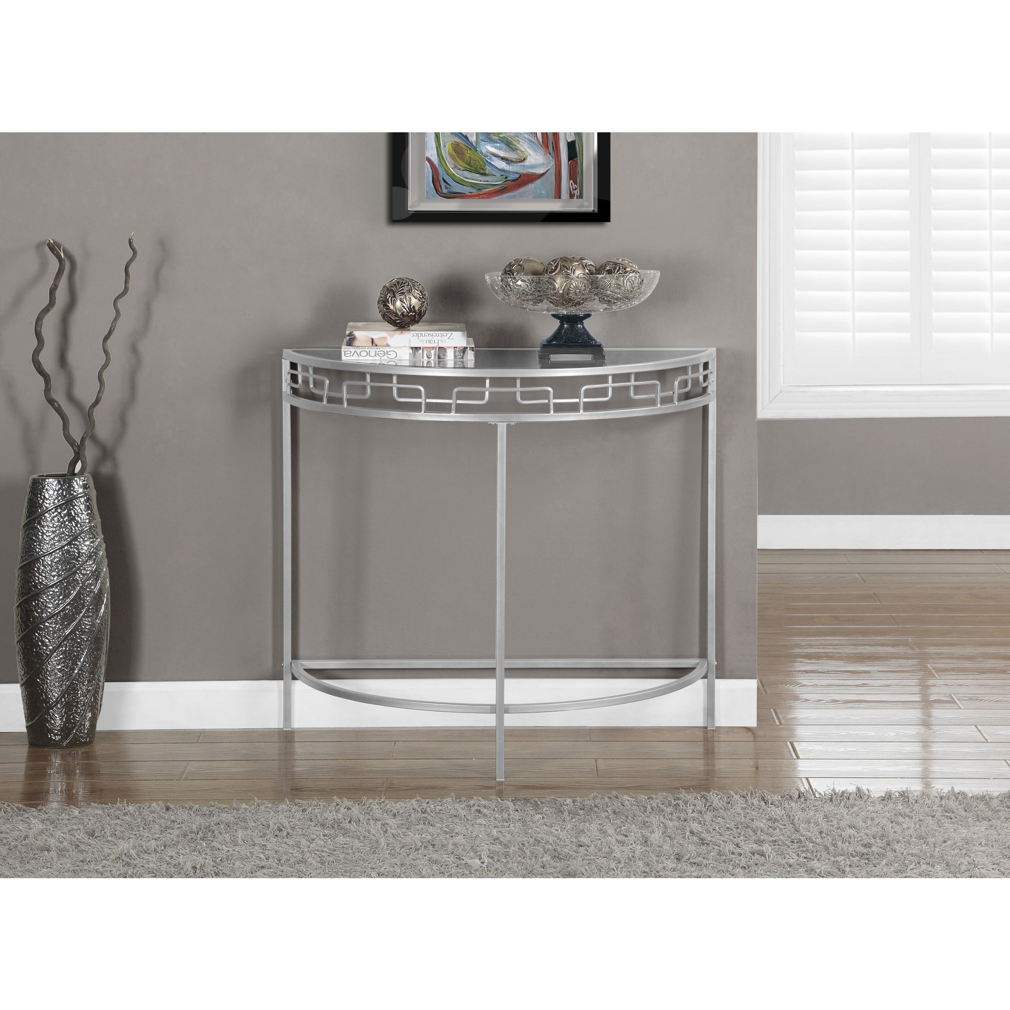 36 Inch Accent Table - Silver-Metal-36-inch-Hall-Console-Accent-Table-6d96f427-f8b1-498a-be8f-283dfefb5a37_Best 36 Inch Accent Table - Silver-Metal-36-inch-Hall-Console-Accent-Table-6d96f427-f8b1-498a-be8f-283dfefb5a37  HD_65363.jpg