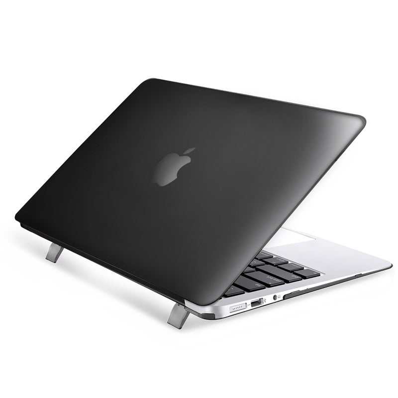 reputable site 76d3d 4e865 INSTEN Plain Rubberized Hard Snap-on Case Cover For Apple Macbook Air  13-inch