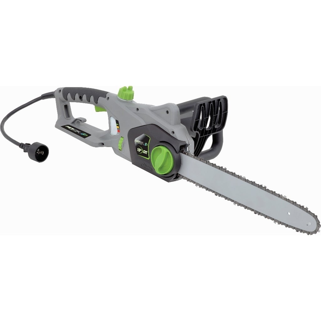Earthwise 12 amp corded 16 inch electric chain saw free shipping earthwise 12 amp corded 16 inch electric chain saw free shipping today overstock 16854753 greentooth
