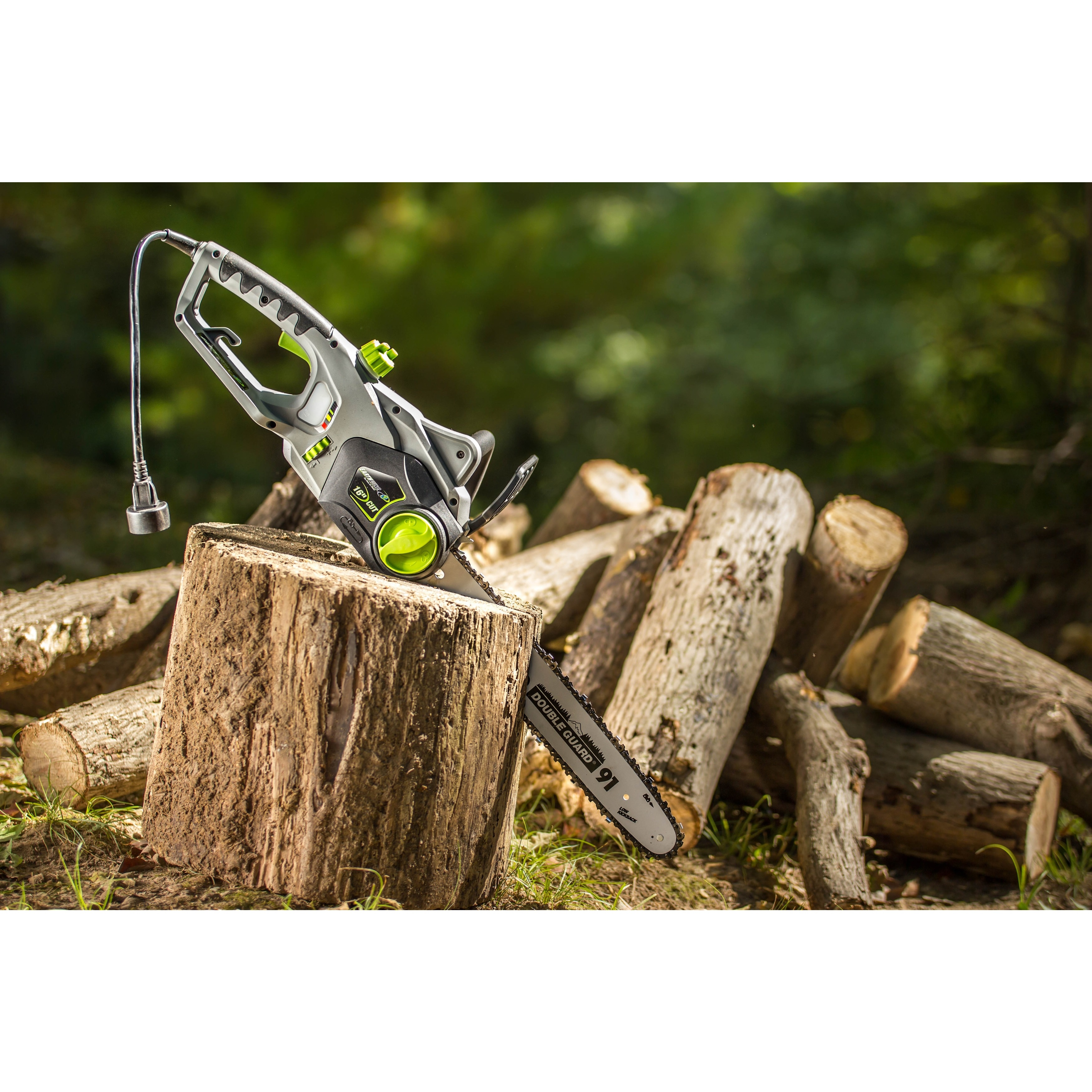Earthwise 12 amp corded 16 inch electric chain saw free shipping earthwise 12 amp corded 16 inch electric chain saw free shipping today overstock 16854753 greentooth Gallery