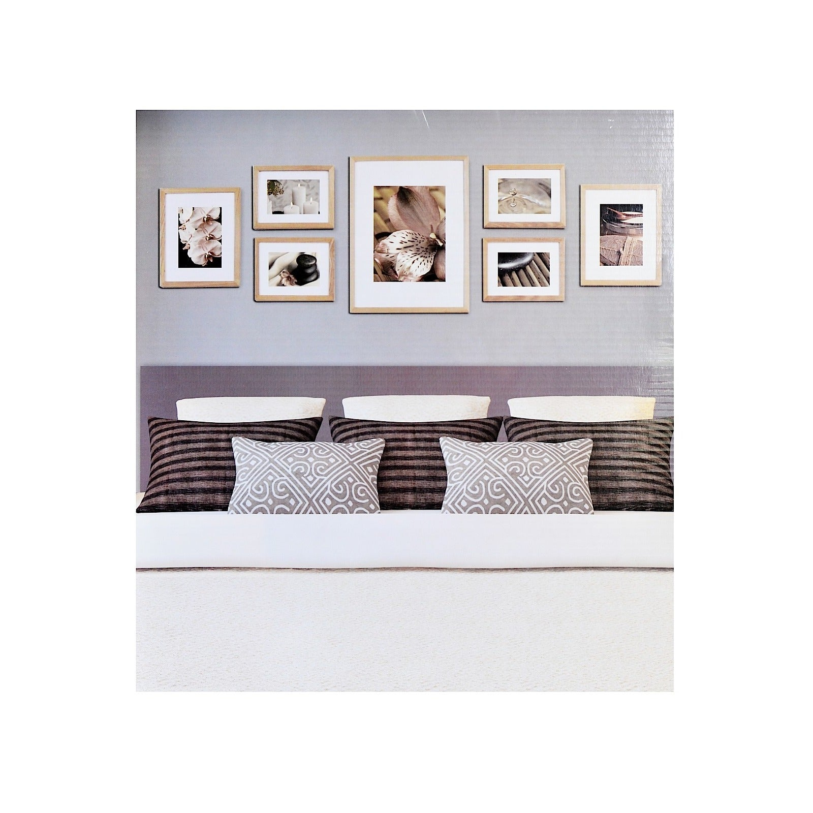 Shop Pinnacle Frames & Accents Gallery Perfect 7-piece Wall Kits ...