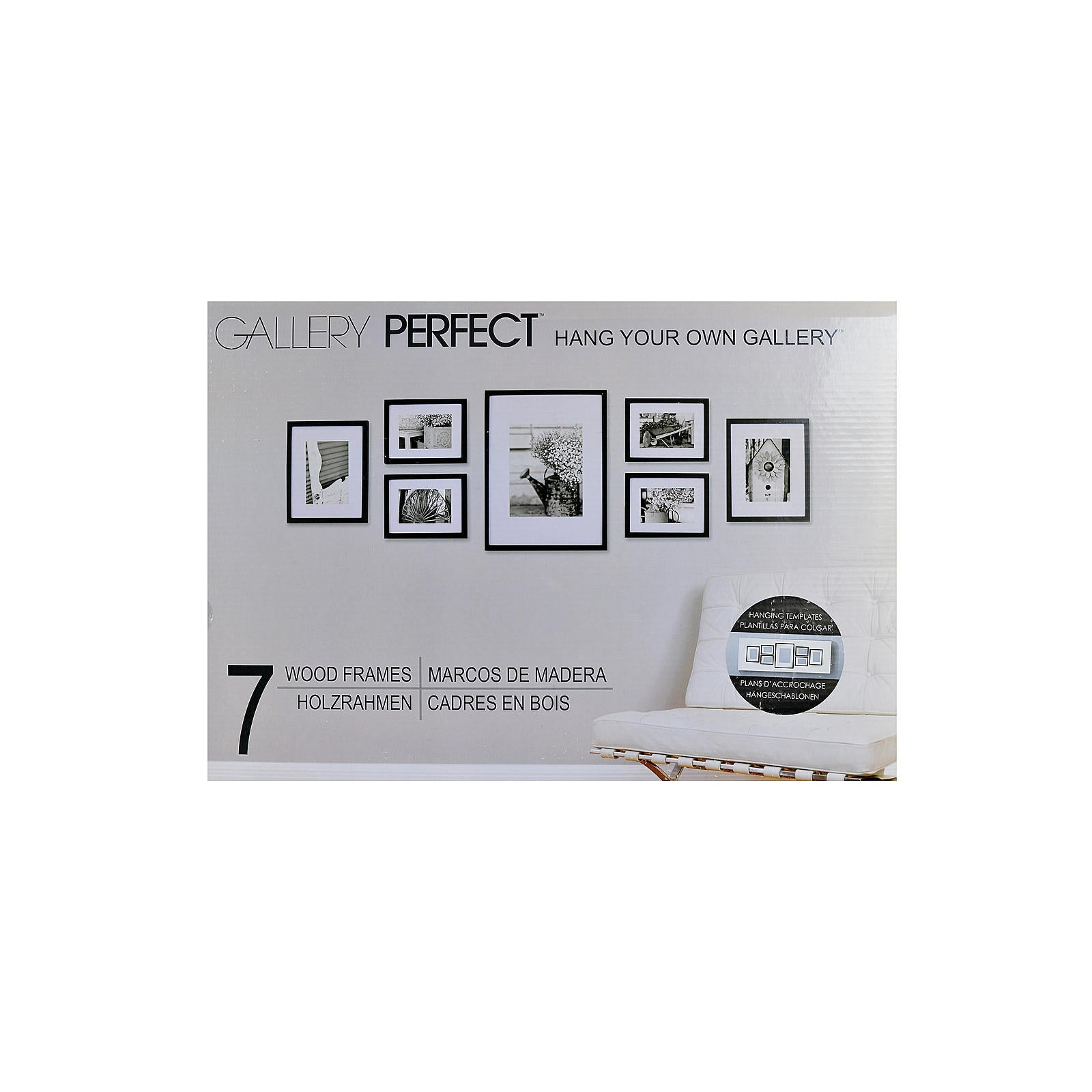 Pinnacle frames accents gallery perfect 7 piece wall kits free pinnacle frames accents gallery perfect 7 piece wall kits free shipping today overstock 16855265 jeuxipadfo Gallery
