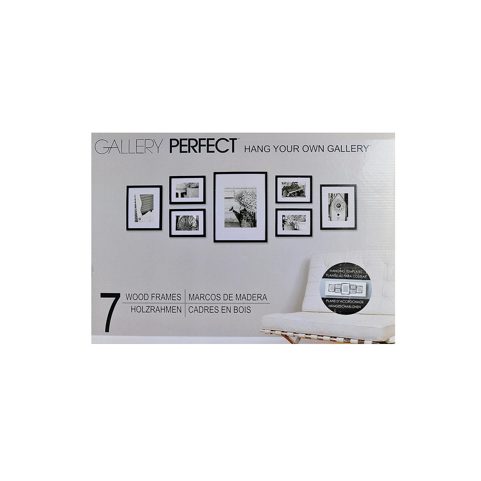 Pinnacle frames accents gallery perfect 7 piece wall kits free pinnacle frames accents gallery perfect 7 piece wall kits free shipping today overstock 16855265 jeuxipadfo Choice Image