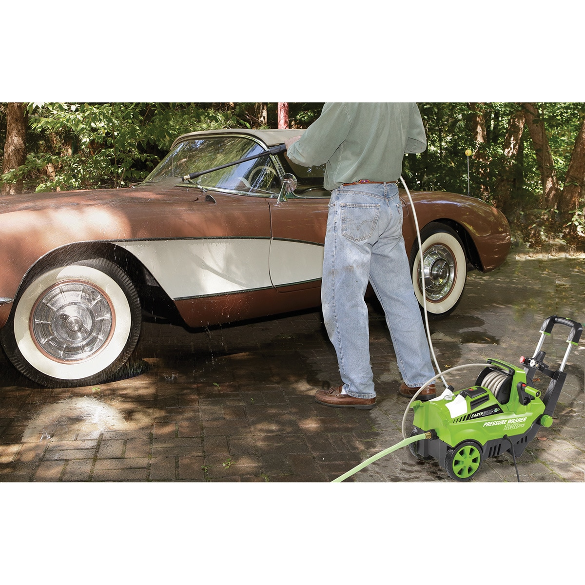 Shop Earthwise 1850 Psi 13 Amp Electric Pressure Washer Free Wiring Diagrams Shipping Today 9677867