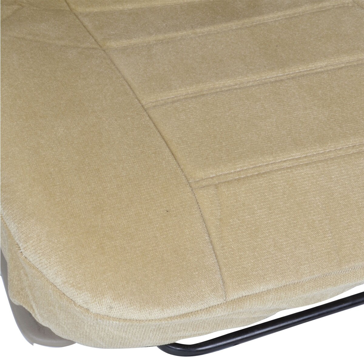 BDK Universal Fit 4 Piece Encore Fabric Low Back Deluxe Front Car Seat Covers