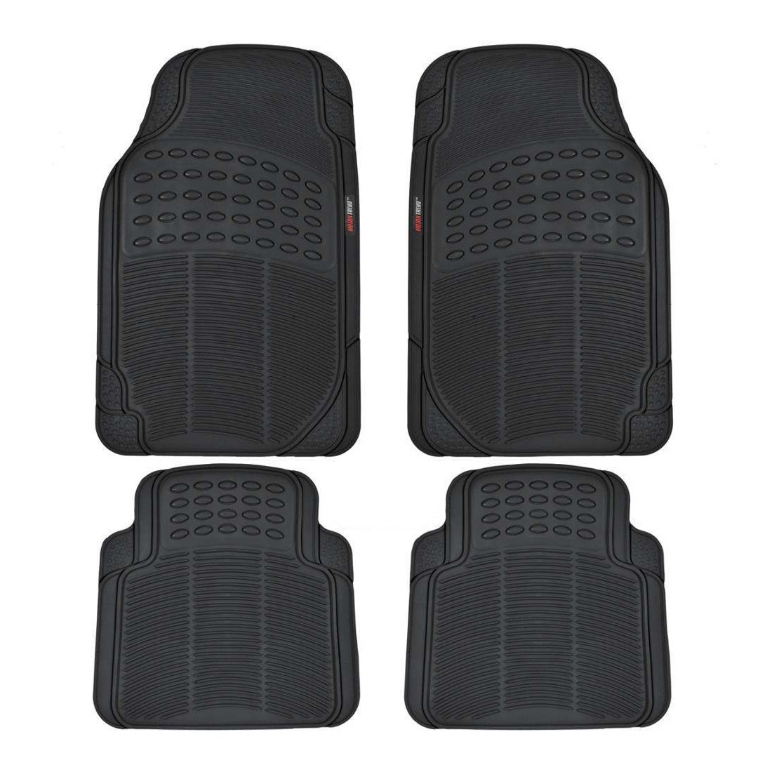 Shop Motor Trend Rubber Odorless BPA-free Car Mats (Set of 4) - Free  Shipping On Orders Over $45 - Overstock.com - 9681703