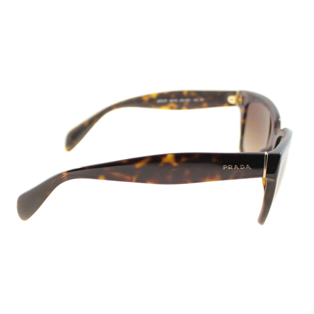 3aceb4b6424 Shop Prada Women s PR 07PS 2AU6S1 Havana Sunglasses - Free Shipping Today -  Overstock - 9683225