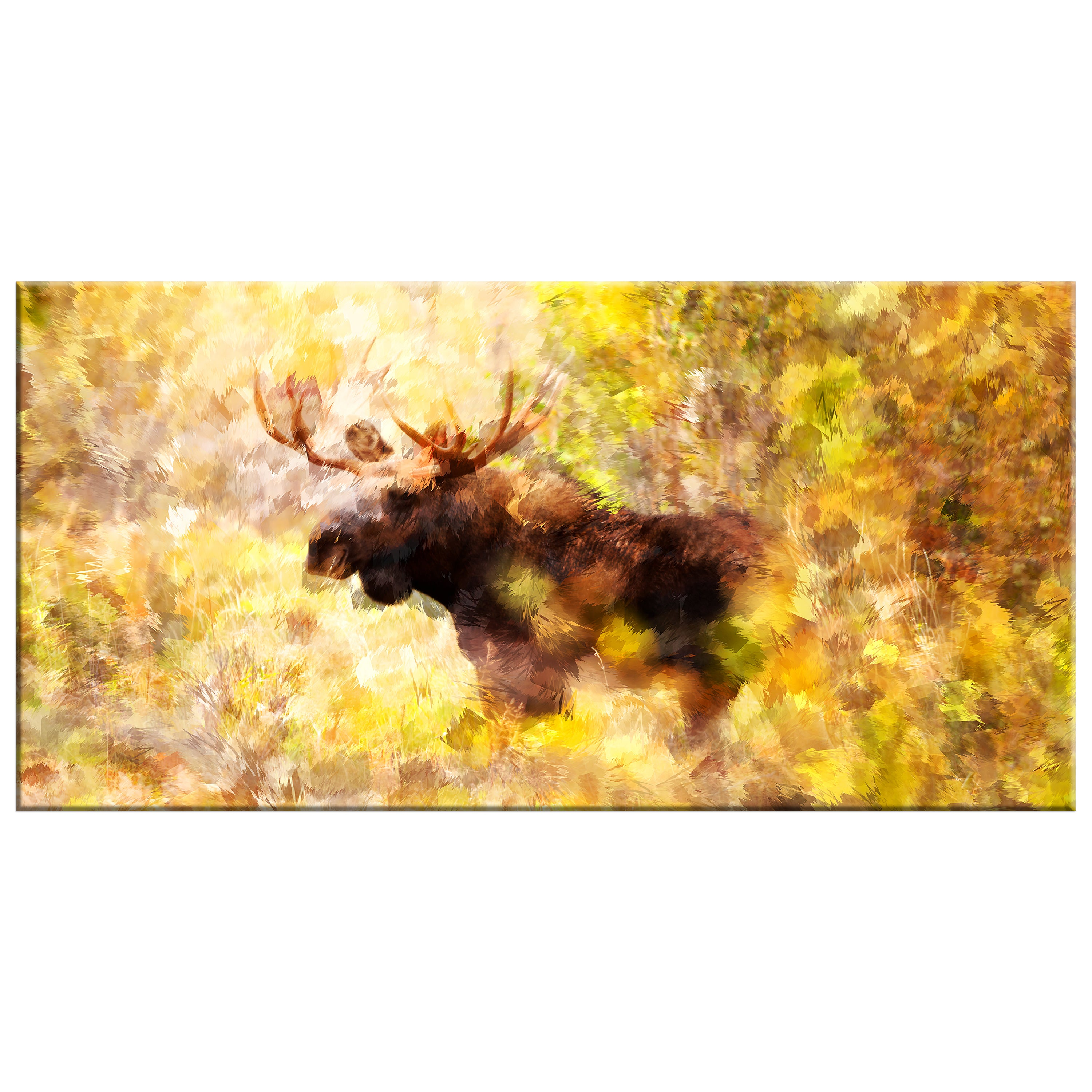 Magnificent Moose Animal Art (Multiple Sizes) - Free Shipping ...
