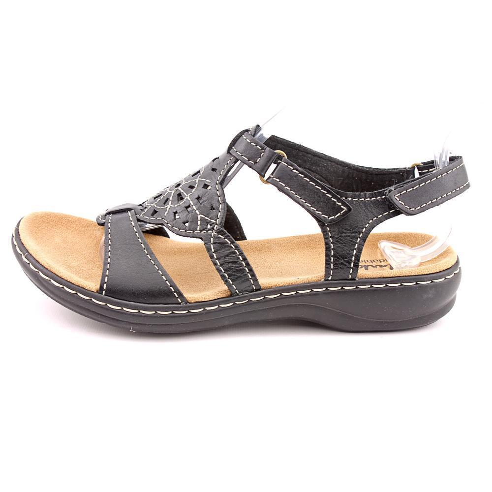 24e22293af31 Shop Clarks Women s  Leisa Taffy  Leather Sandals - Free Shipping Today -  Overstock - 9685229