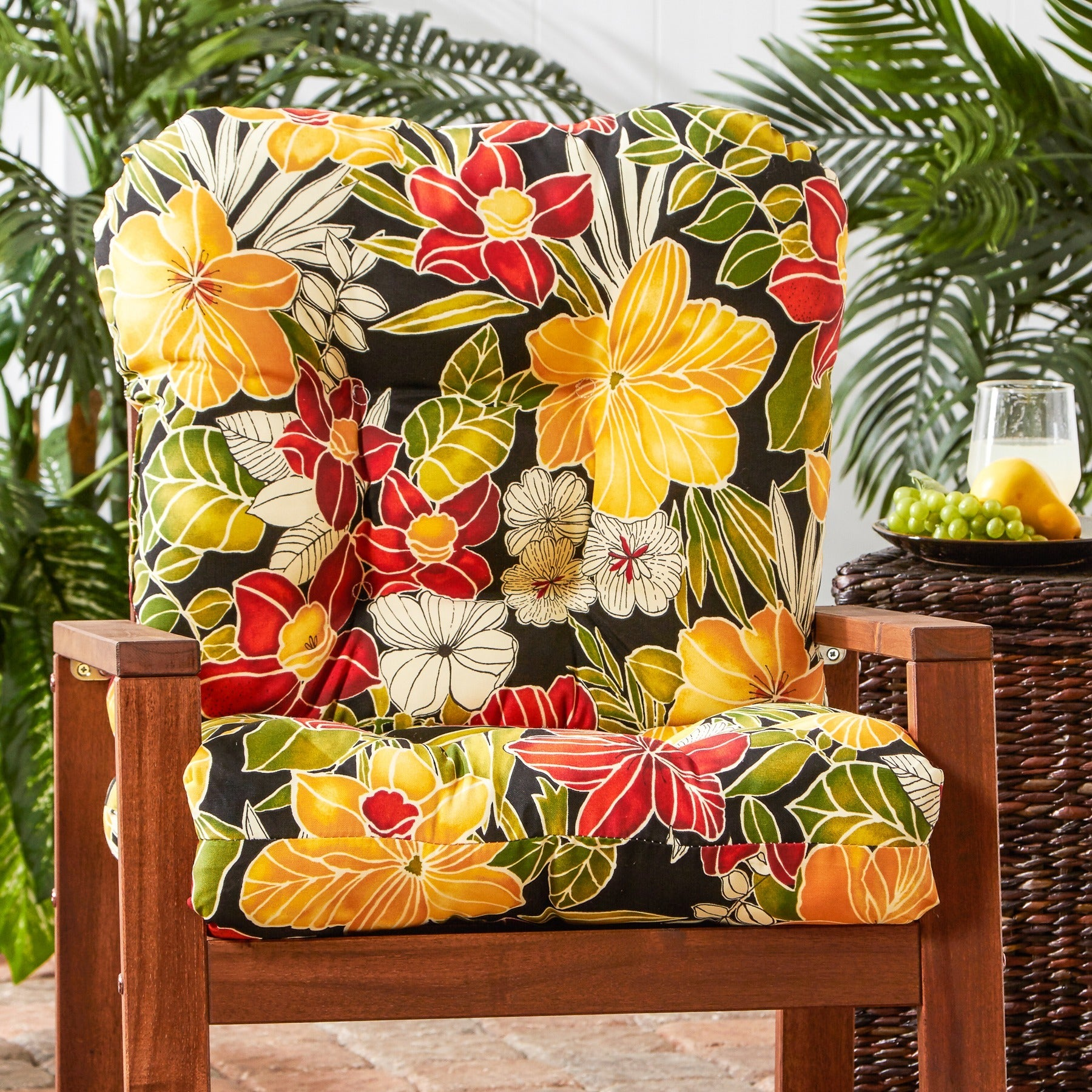 Outdoor Aloha Seat/Back Chair Cushion - Free Shipping Today ...
