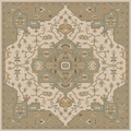 Hand-tufted Misty Traditional Wool Rug (8' Square)