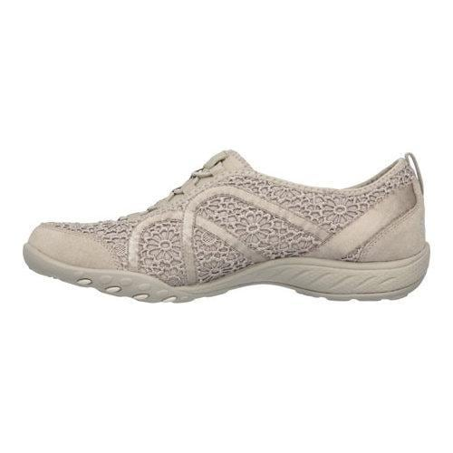 7073315eeedd ... Thumbnail Women  x27 s Skechers Relaxed Fit Breathe Easy Meadows Bungee  Lace Shoe Taupe
