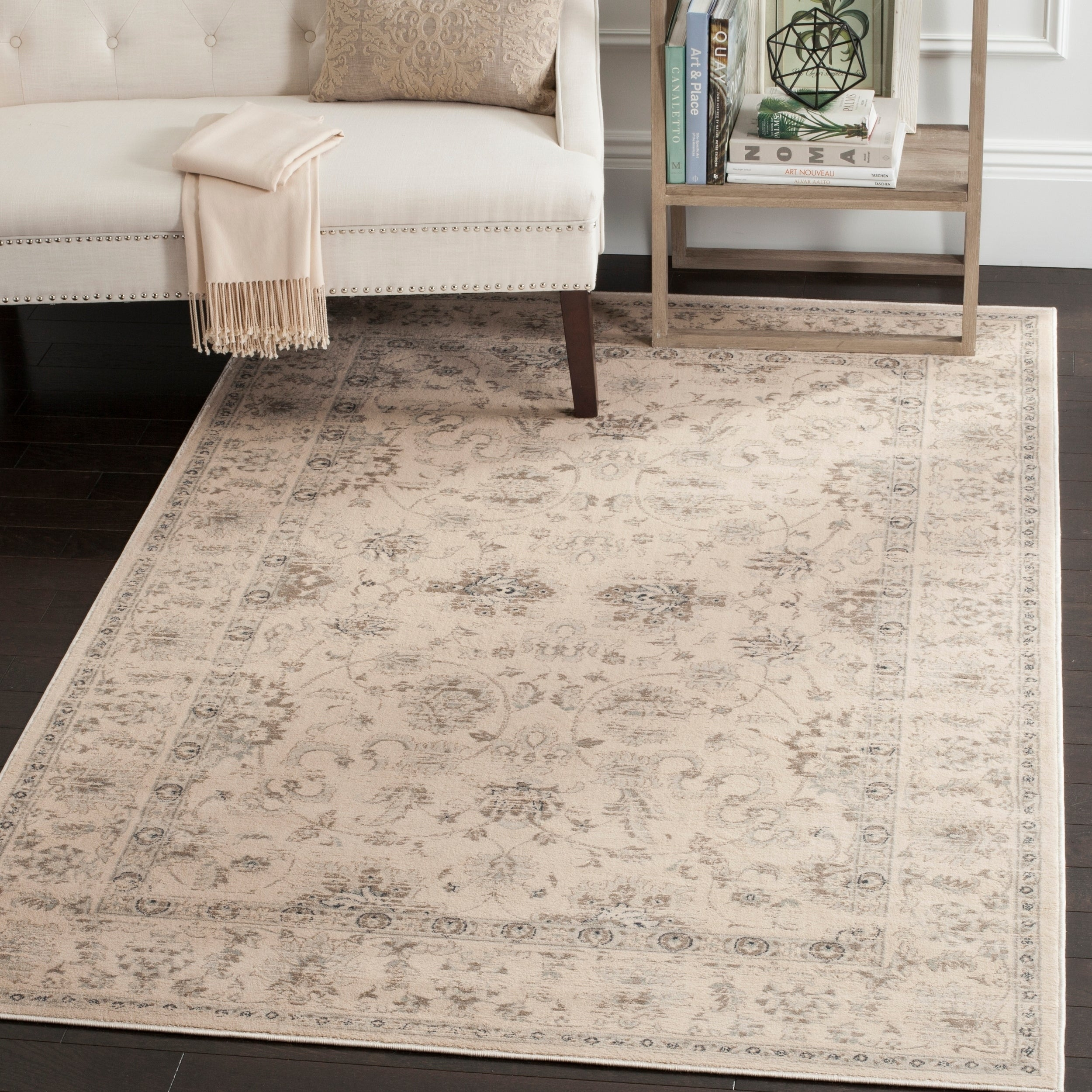 Shop Safavieh Vintage Oriental Cream Distressed Rug 8 X 11 On D Island Casual Wrinkle Sale Free Shipping Today 9720246