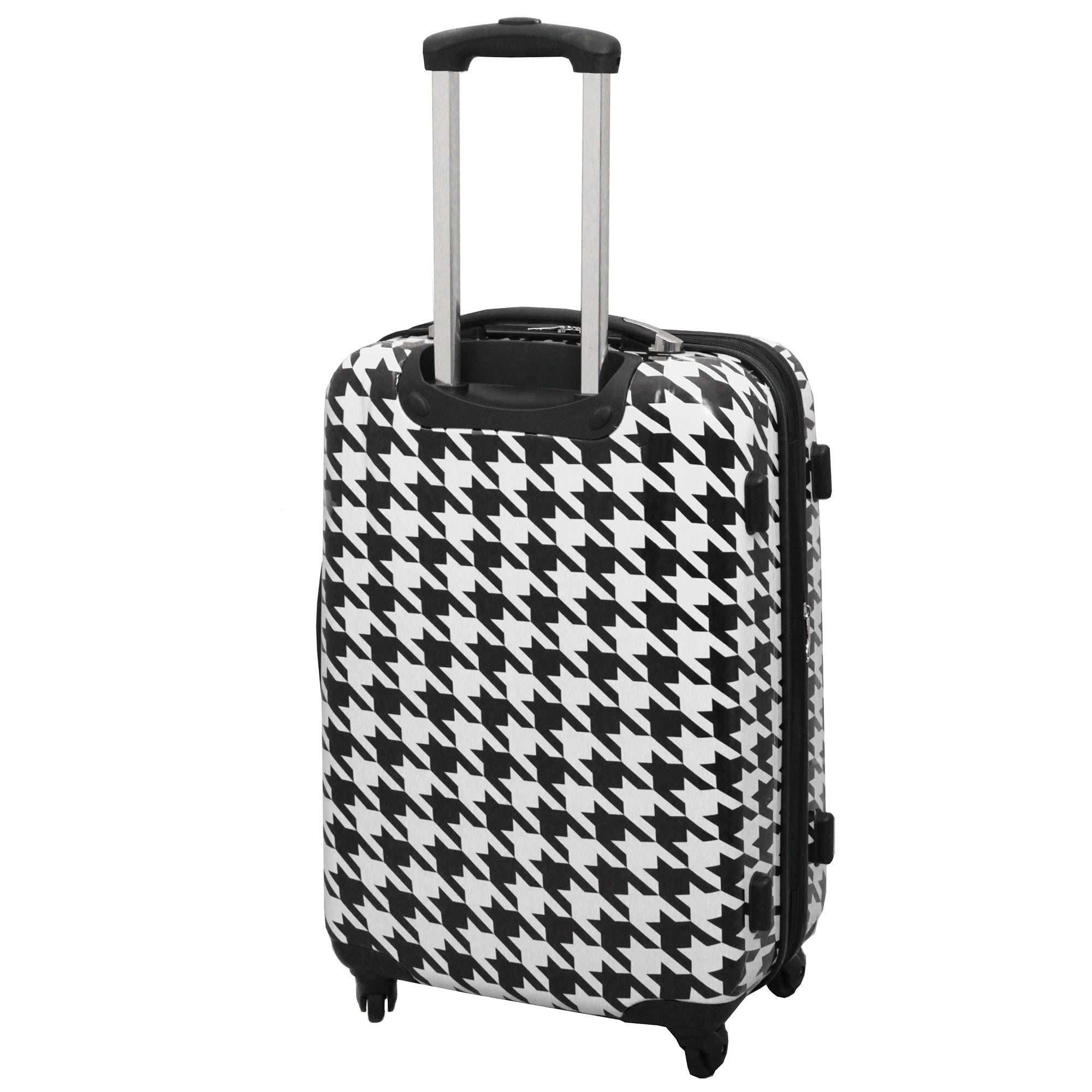 Shop Chariot Houndstooth 3-Piece Hardside Lightweight Expandable ...