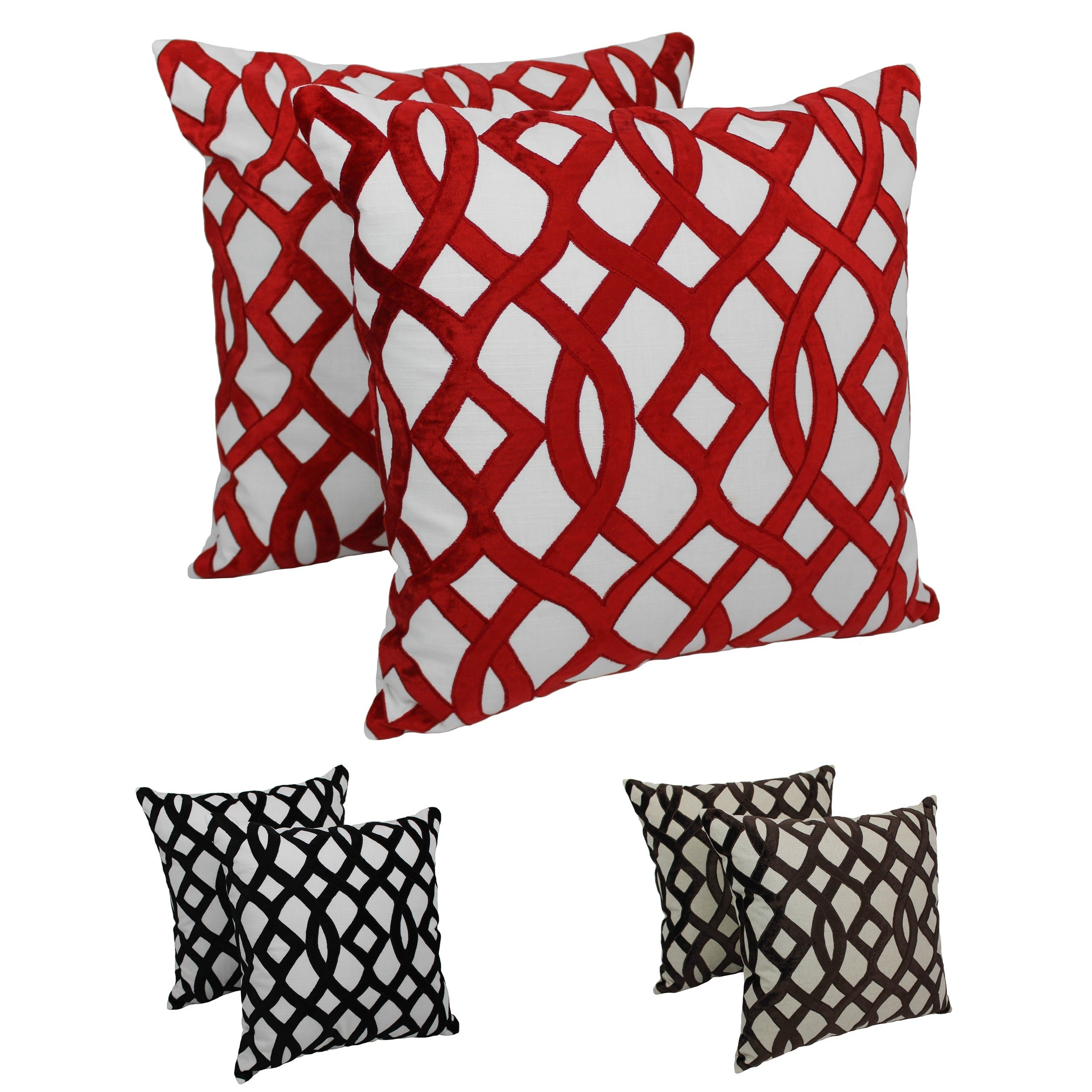 collections throw original greek decorative products stripe pillows key pillow modern trellis x