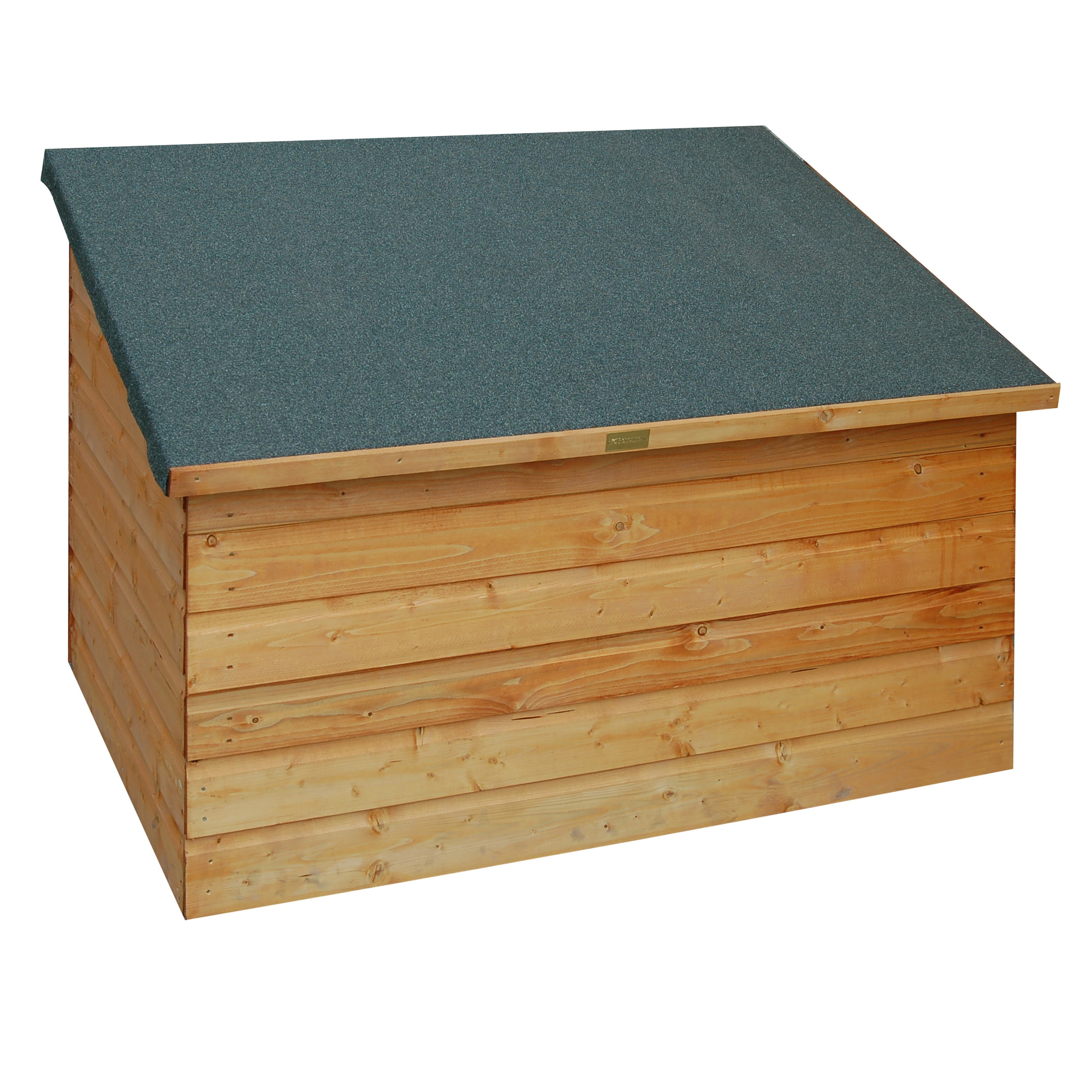 Shop Outdoor Wood Deck Storage Box   Free Shipping Today   Overstock.com    9721719