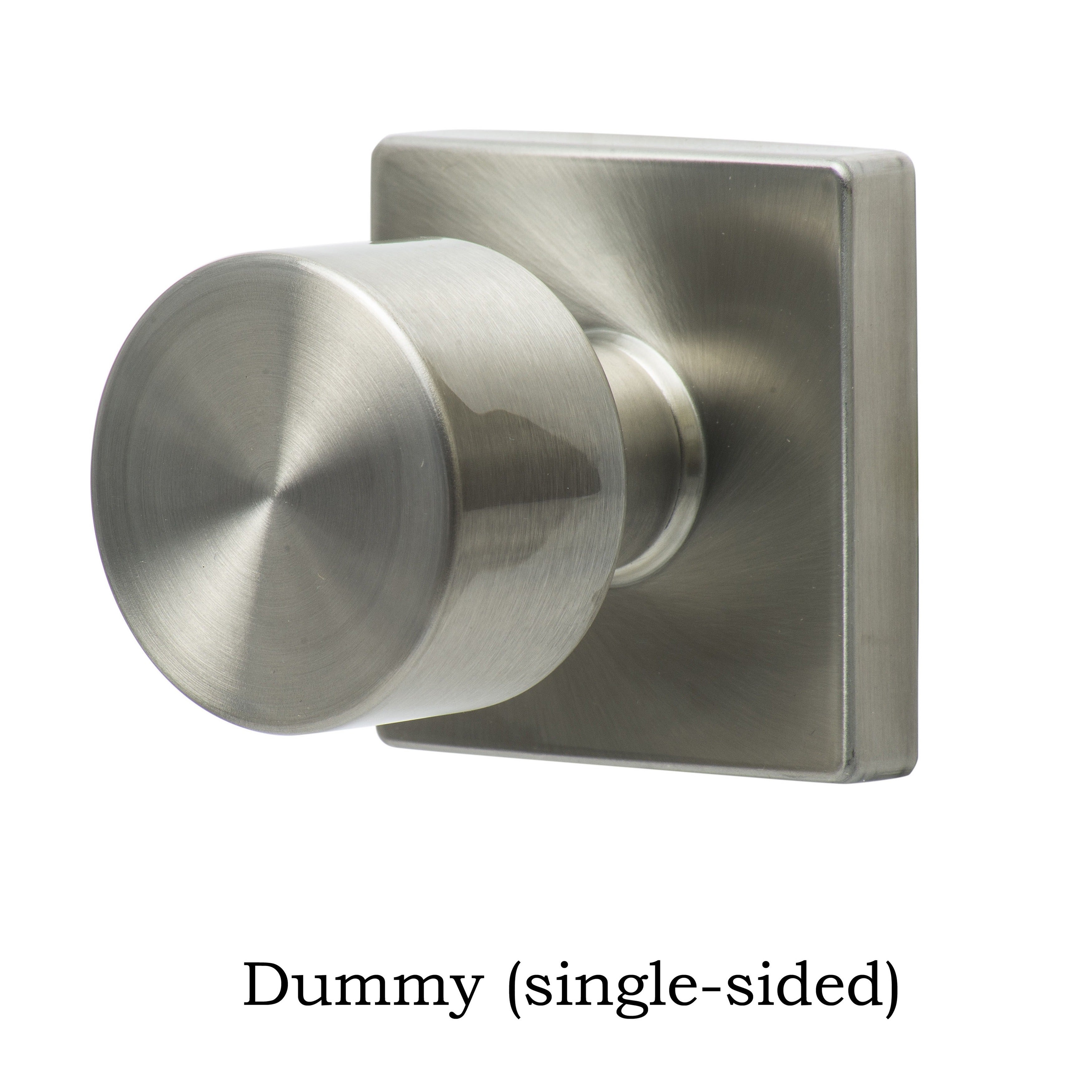 Sure Loc Bergen Stainless Steel Square Door Knob   Free Shipping On Orders  Over $45   Overstock   16896200