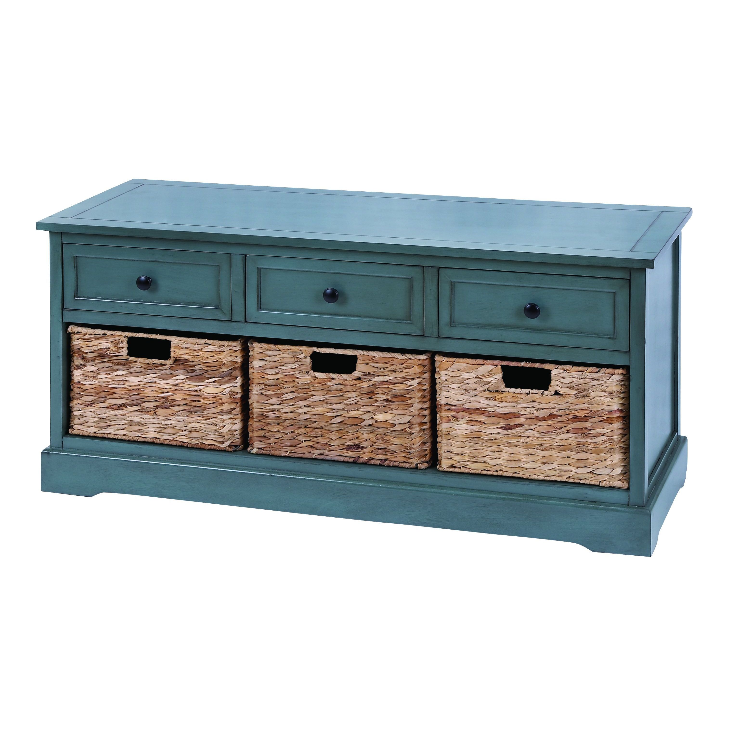 Shop WD 3 Basket Cabinet 20-inch - Free Shipping Today - Overstock ...
