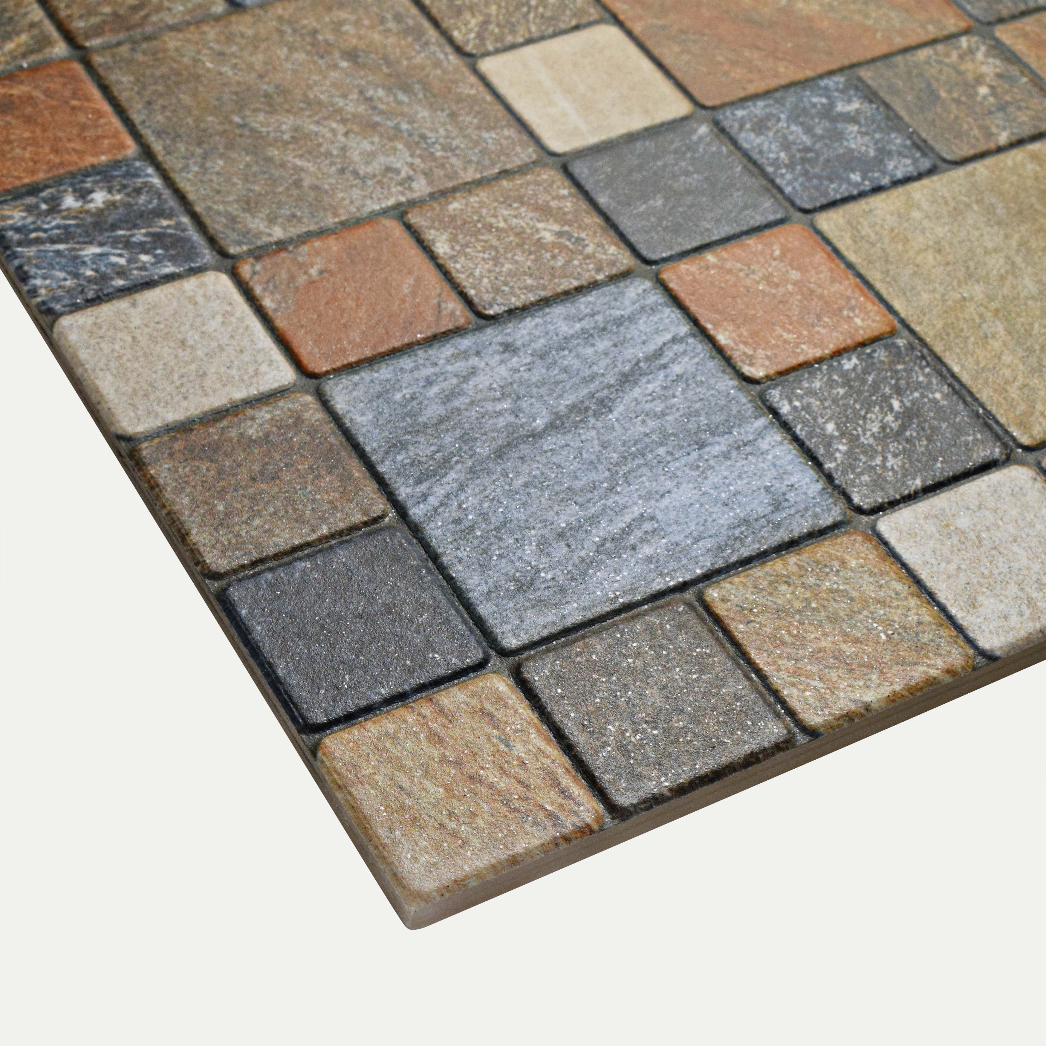 Somertile 12 25x12 25 Inch Folio Por Rustico Porcelain Floor And Wall Tile 15 Tiles 16 3 Sqft Free Shipping Today 9724122