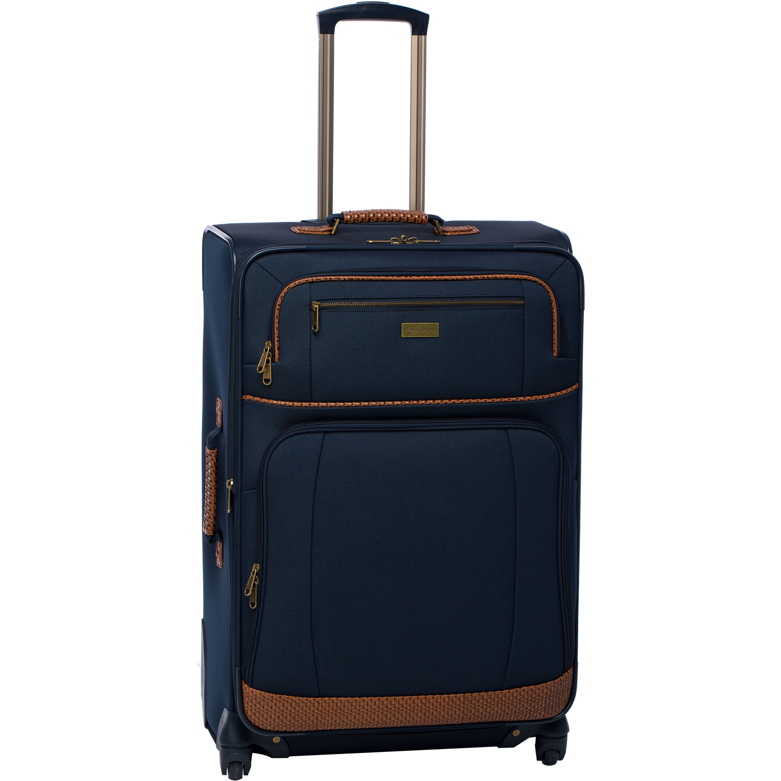 cadbe5e1efe0 Shop Tommy Bahama Mojito 4-piece Spinner Luggage Set - Free Shipping Today  - Overstock - 9724390