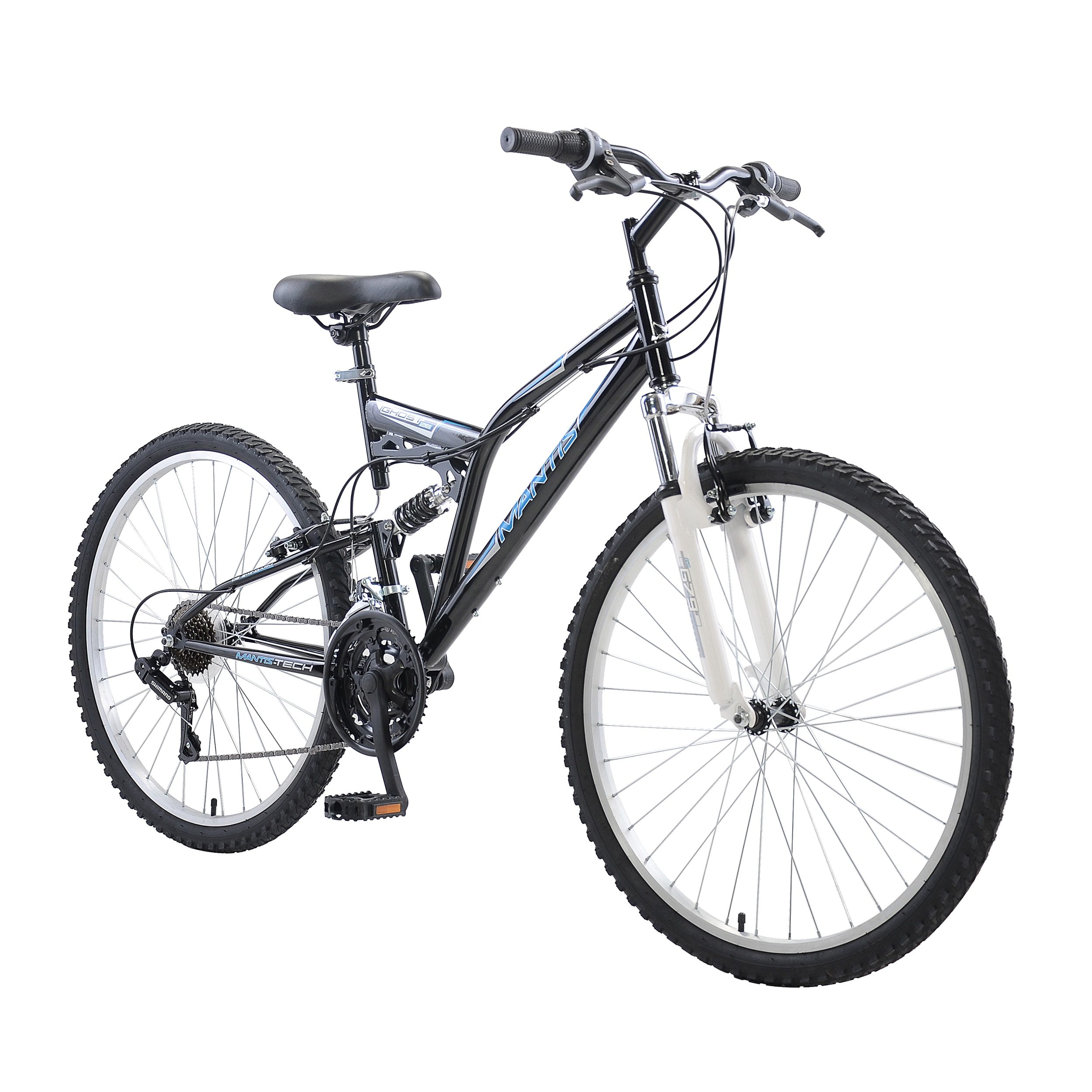 Shop Mantis Ghost 26-inch Full Suspension Bicycle - Free Shipping ...