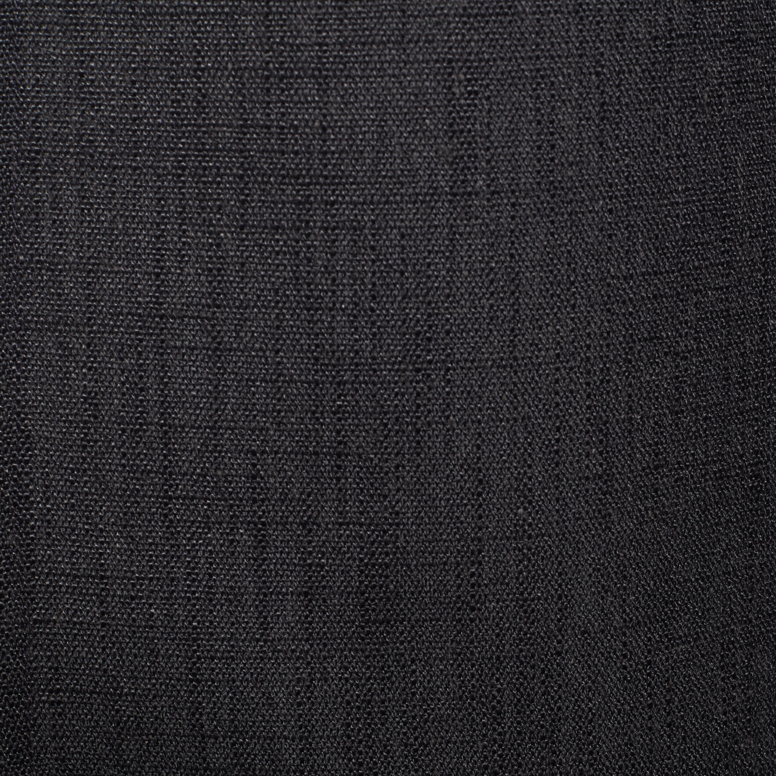 Heavy Faux Linen Curtain Panel - Free Shipping Today - Overstock ... for Black Curtains Texture  584dqh