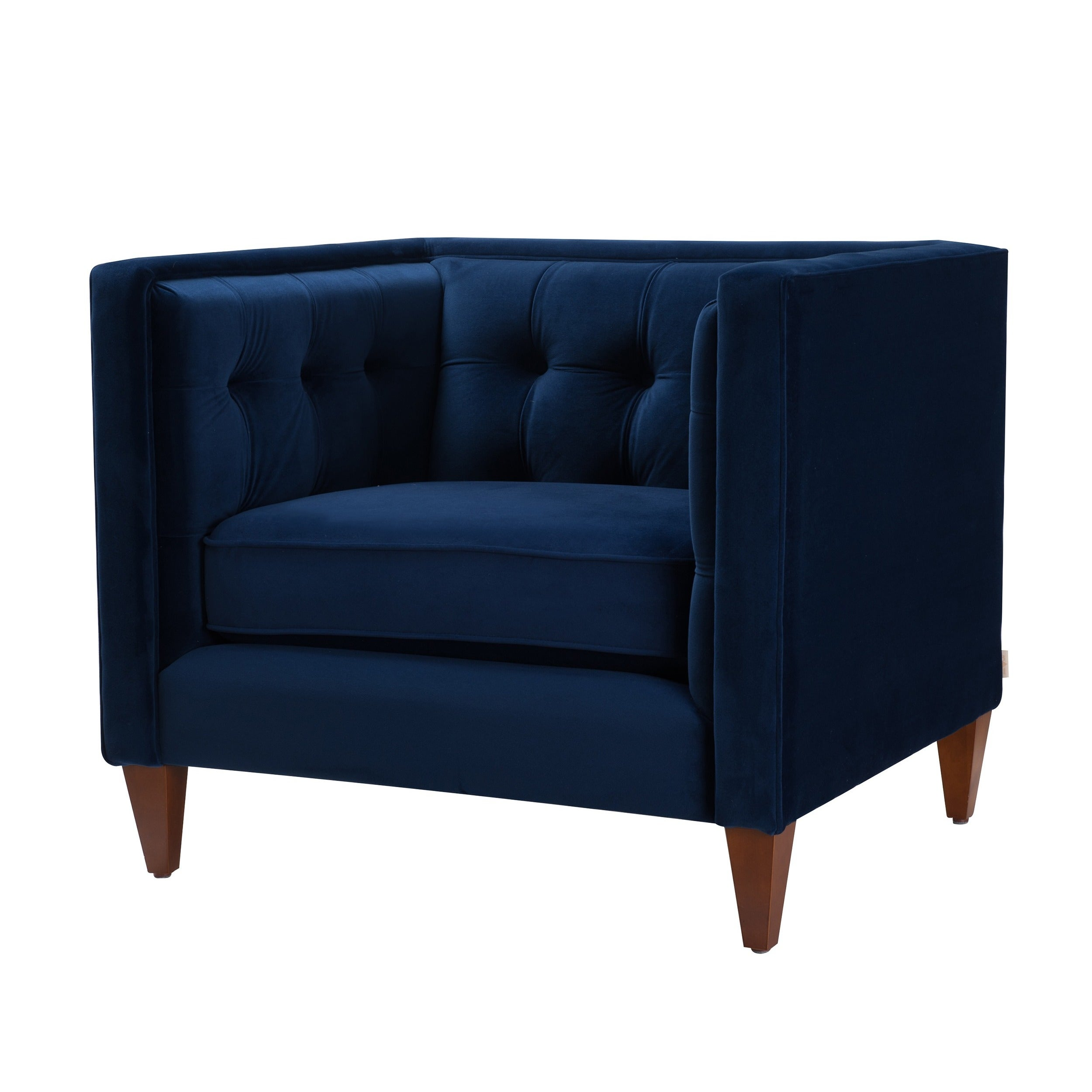 Exceptional Shop Jennifer Taylor Jack Tuxedo Arm Chair   On Sale   Free Shipping Today    Overstock.com   9734376