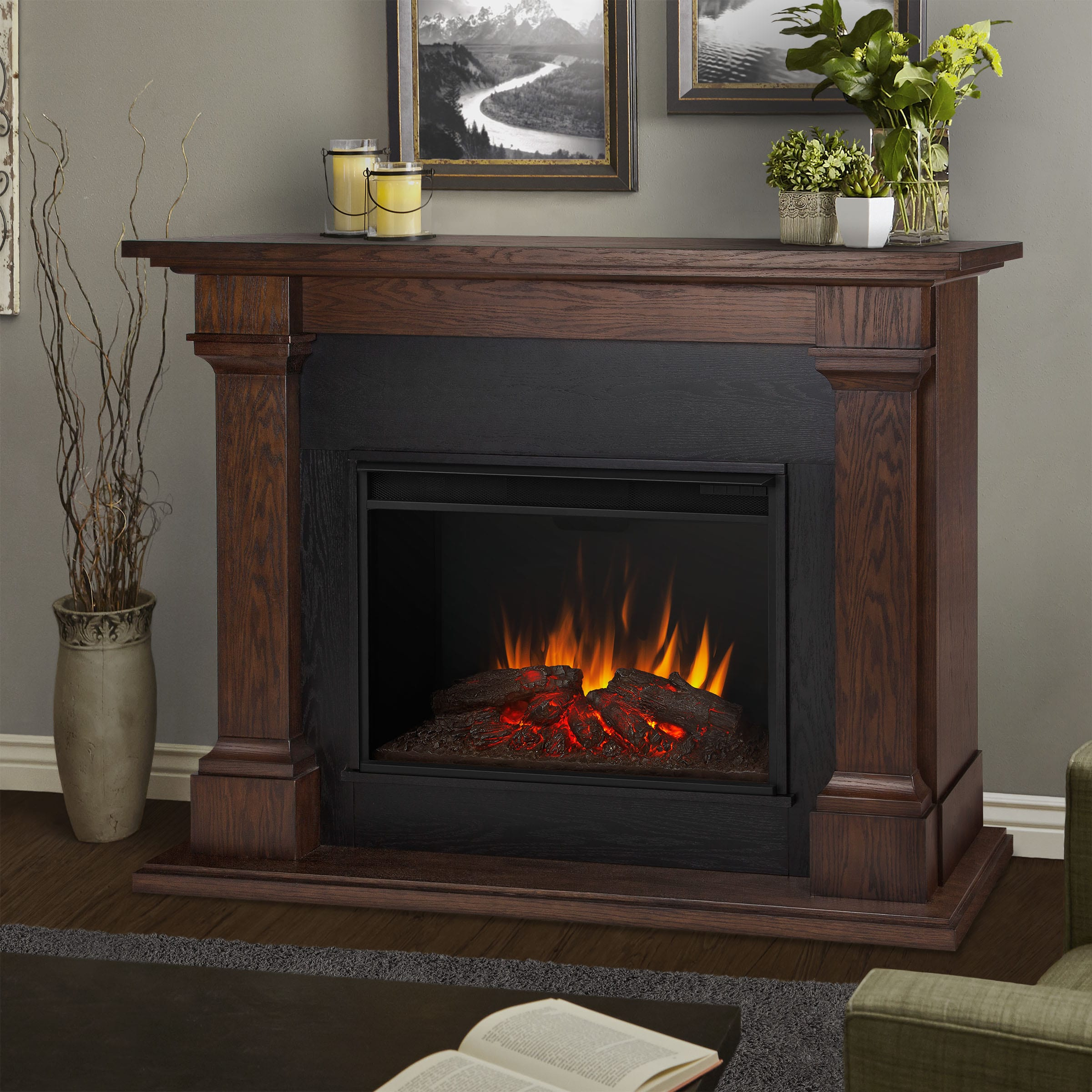 grand maxwell home real flame reviews improvement wayfair large pdx fireplace electric