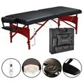 Master Massage Heated Top 30-inch Roma LX Massage Table Package