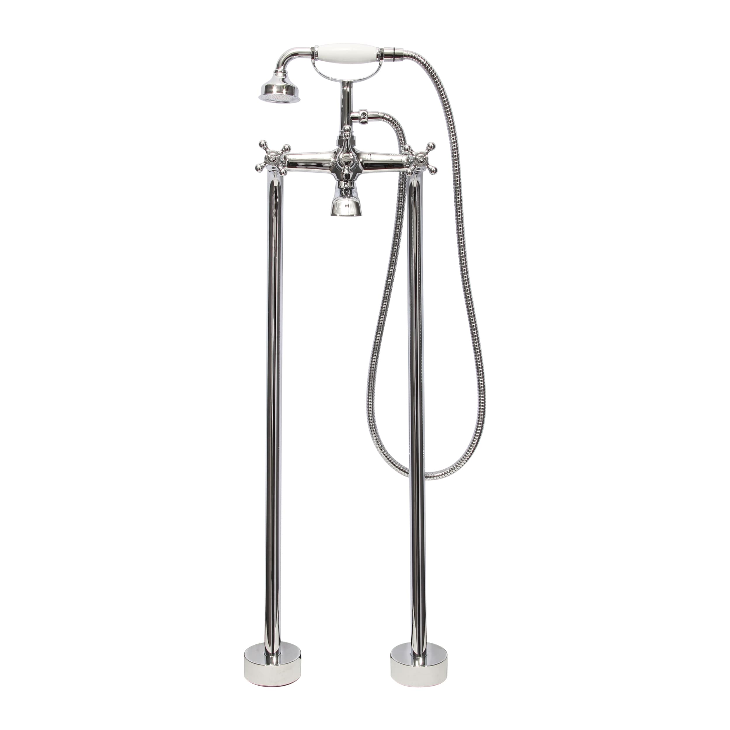 Shop Dyconn Faucet Free-standing Bathtub Filler Faucet with Hand ...