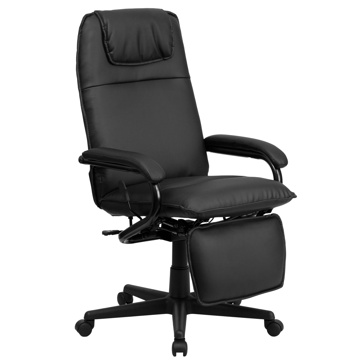 Offex High Back Leather Executive Reclining Office Chair   Free Shipping  Today   Overstock.com   16915539