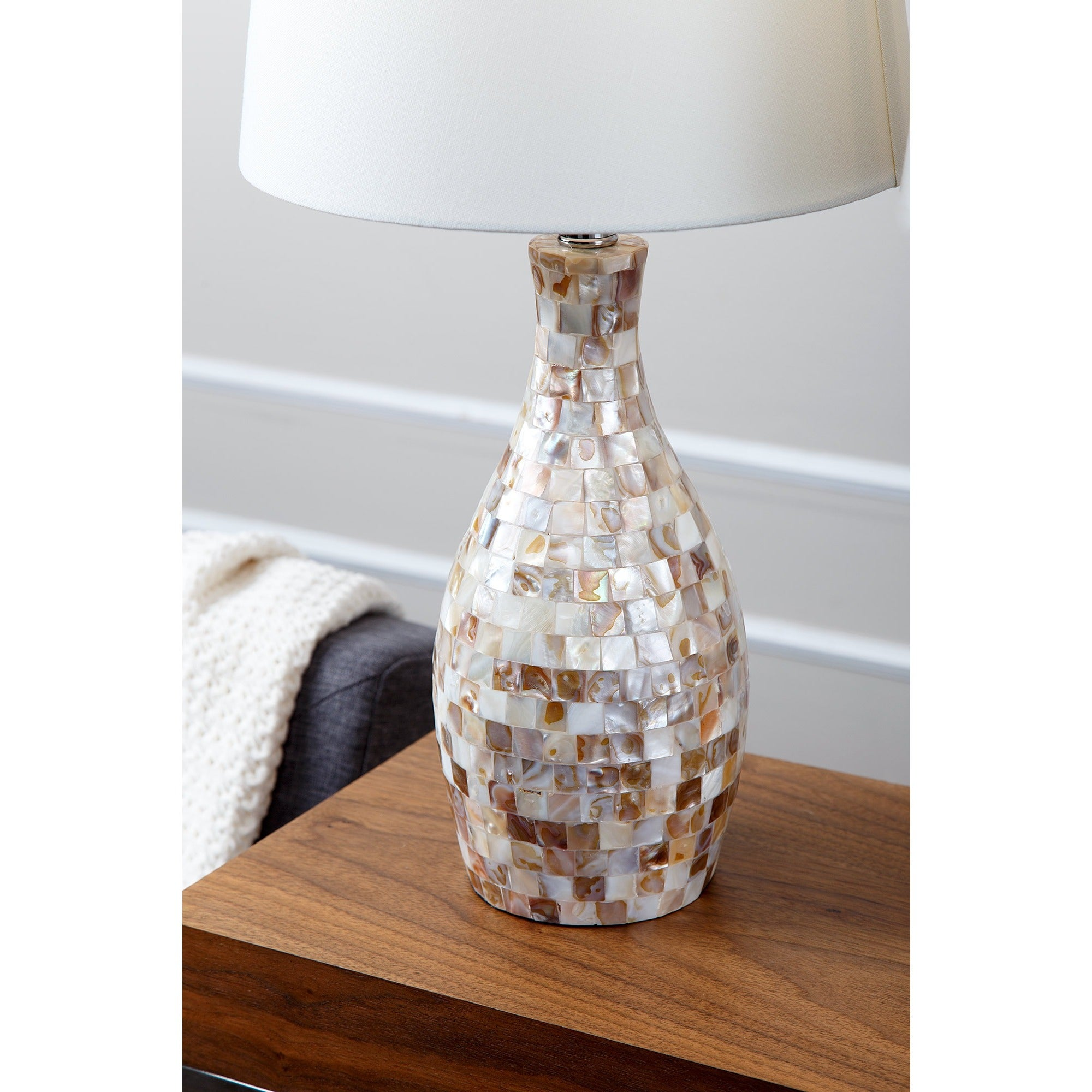 Abbyson mother of pearl table lamp set of 2 free shipping today abbyson mother of pearl table lamp set of 2 free shipping today overstock 16919253 aloadofball Images