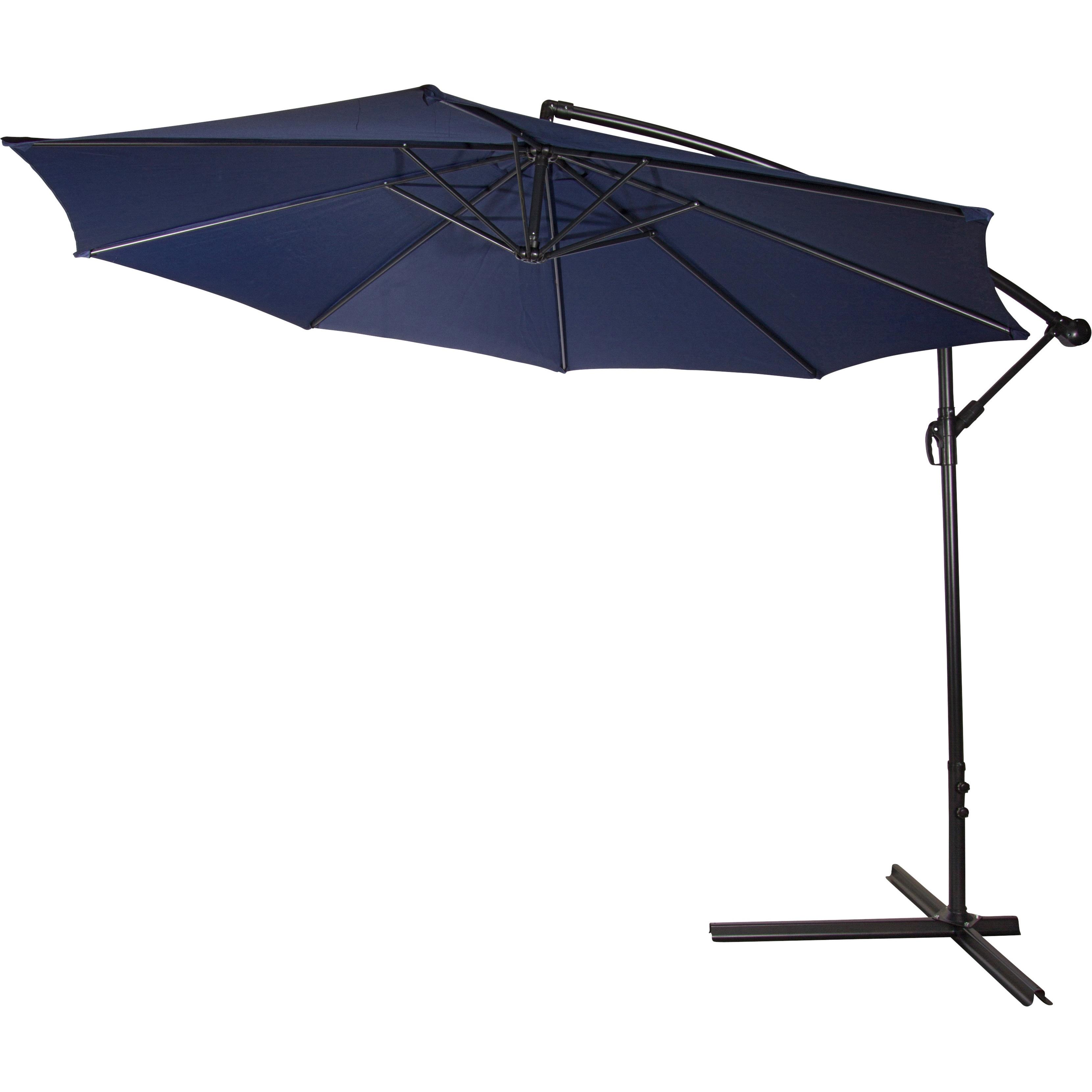 10 foot Deluxe fset Patio Umbrella Free Shipping Today