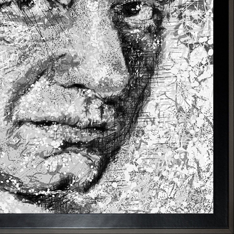 Shop Jeffrey Pierson Johnny Cash Framed Fine Art Print - Free ...