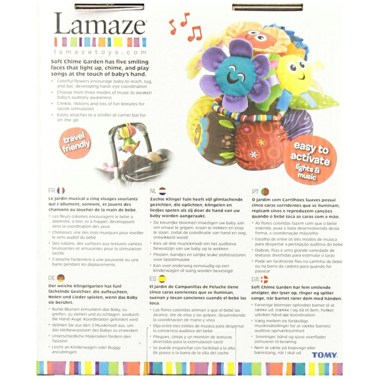 Lamaze Soft Chime Garden Musical Toy Free Shipping On Orders Over