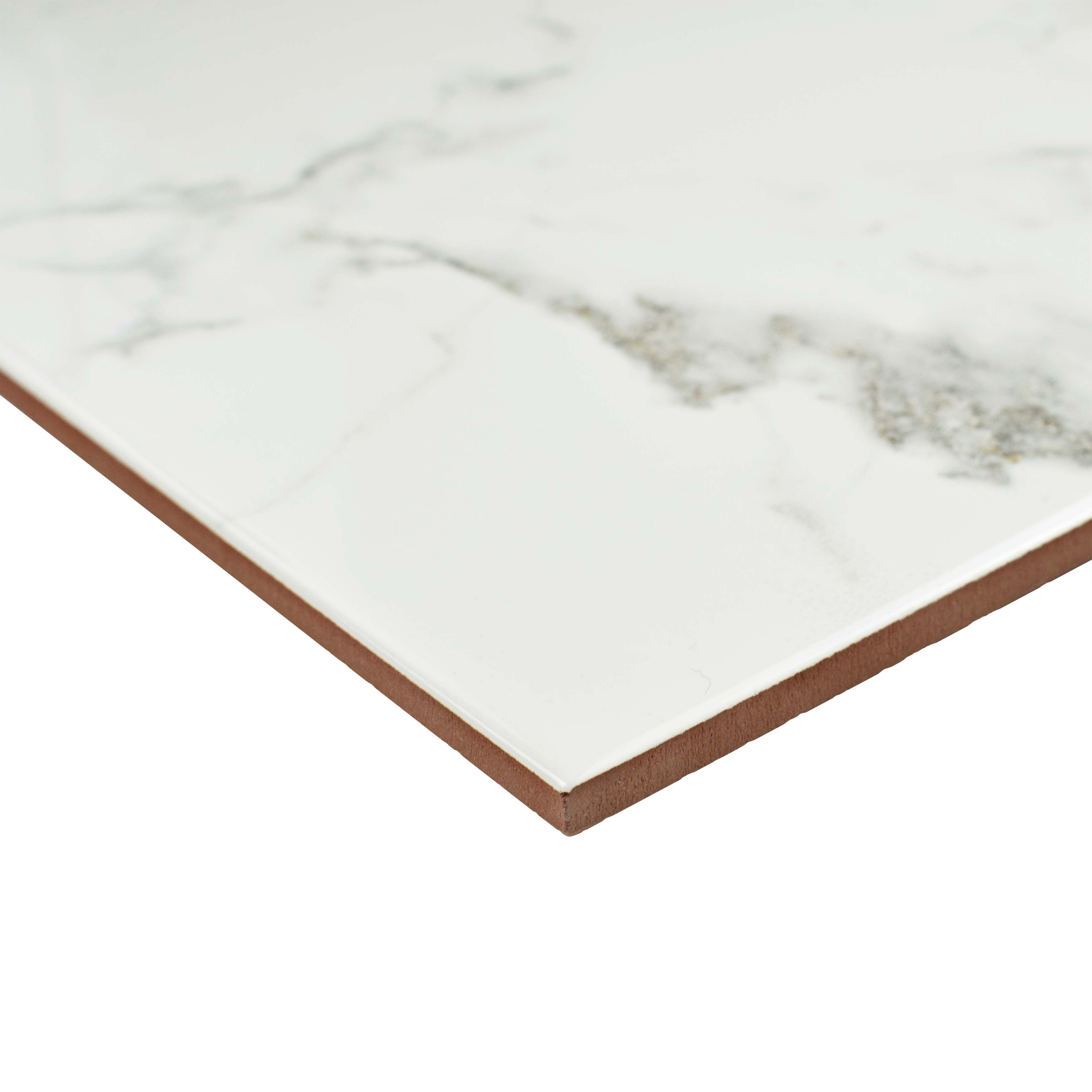 Somertile 18x18 inch classic calacatta ceramic floor and wall tile somertile 18x18 inch classic calacatta ceramic floor and wall tile case of 5 free shipping today overstock 16931157 dailygadgetfo Gallery