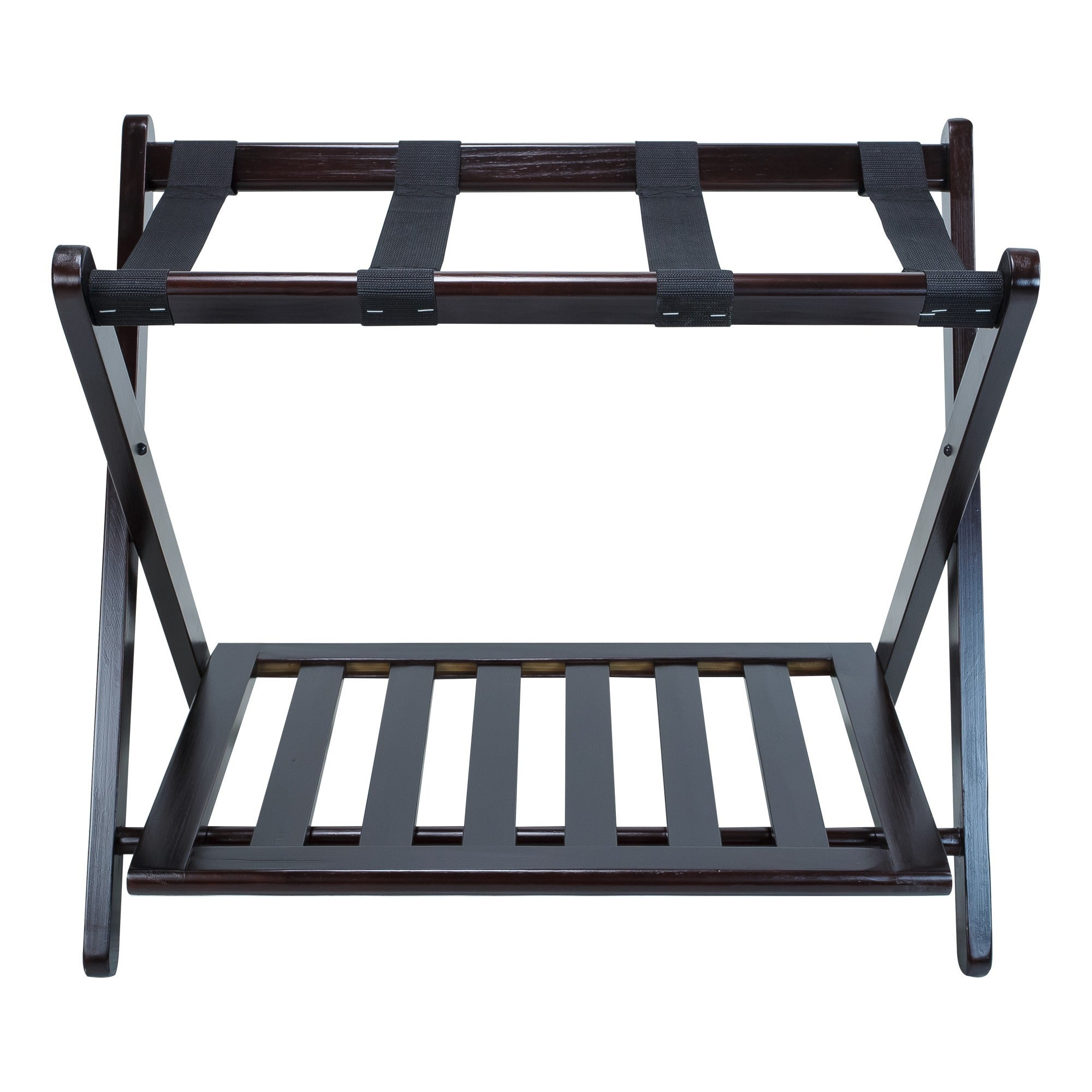 Exceptionnel Shop Hotel Style Luggage Rack With Shelf   Free Shipping On Orders Over $45    Overstock.com   9762587
