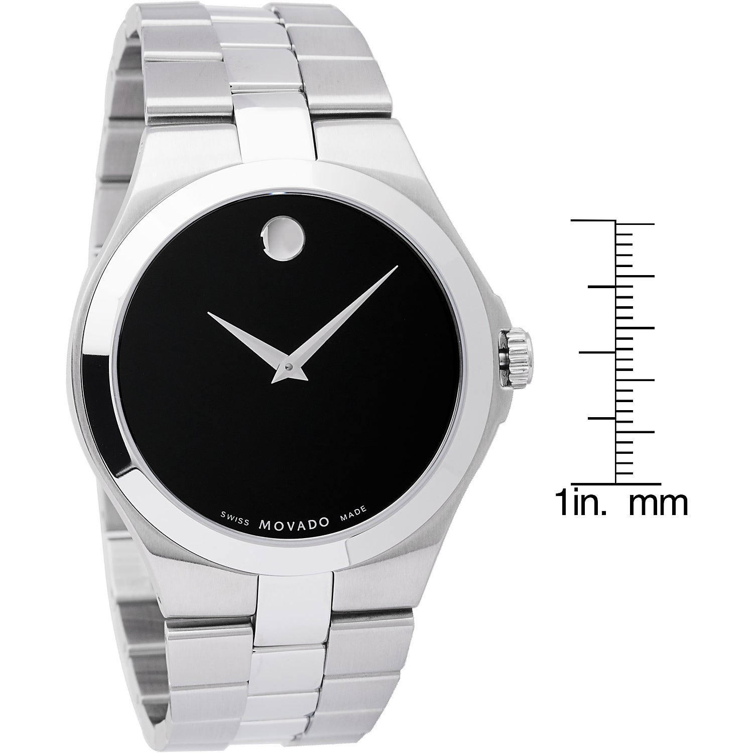 dial and elise image ladies silver at mesh black noir available watches amp watch mockberg