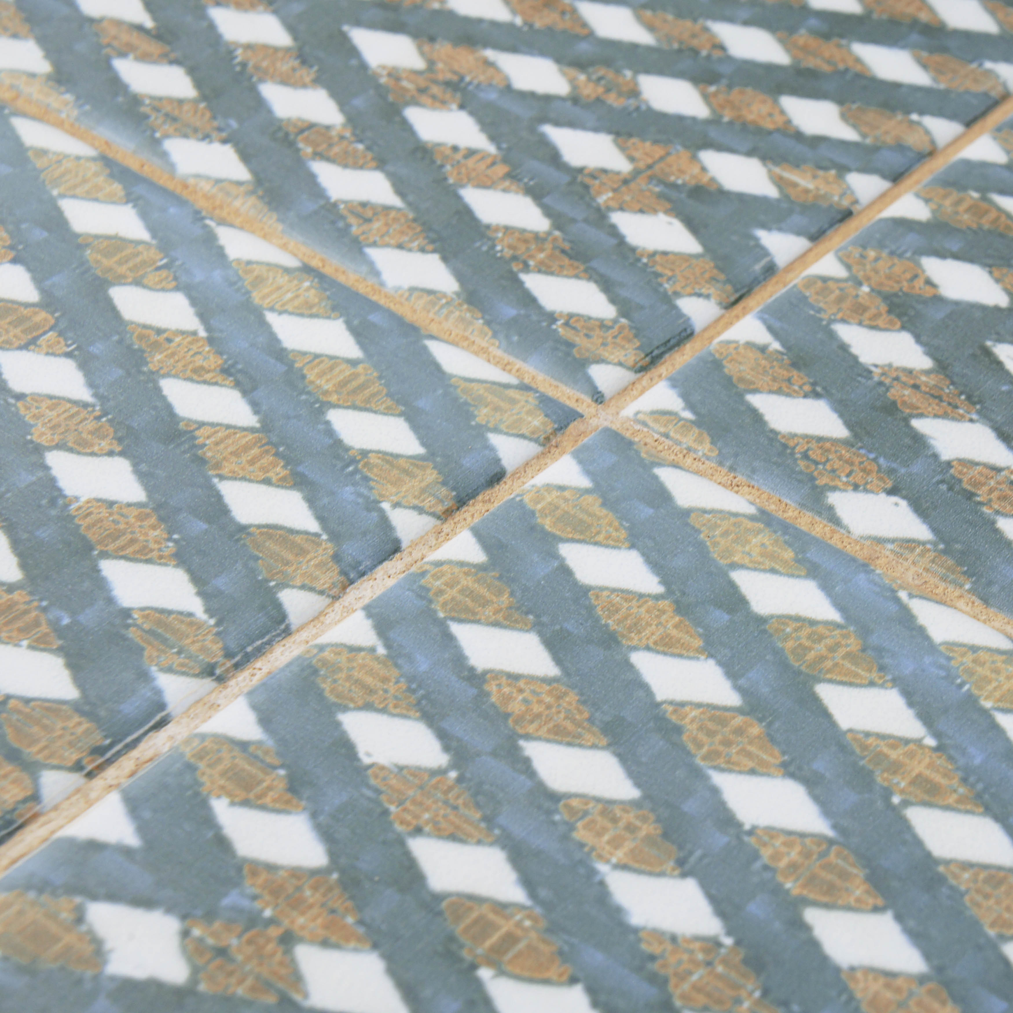Shop SomerTile 7.75x7.75-inch Puccini Grid Ceramic Floor and Wall ...