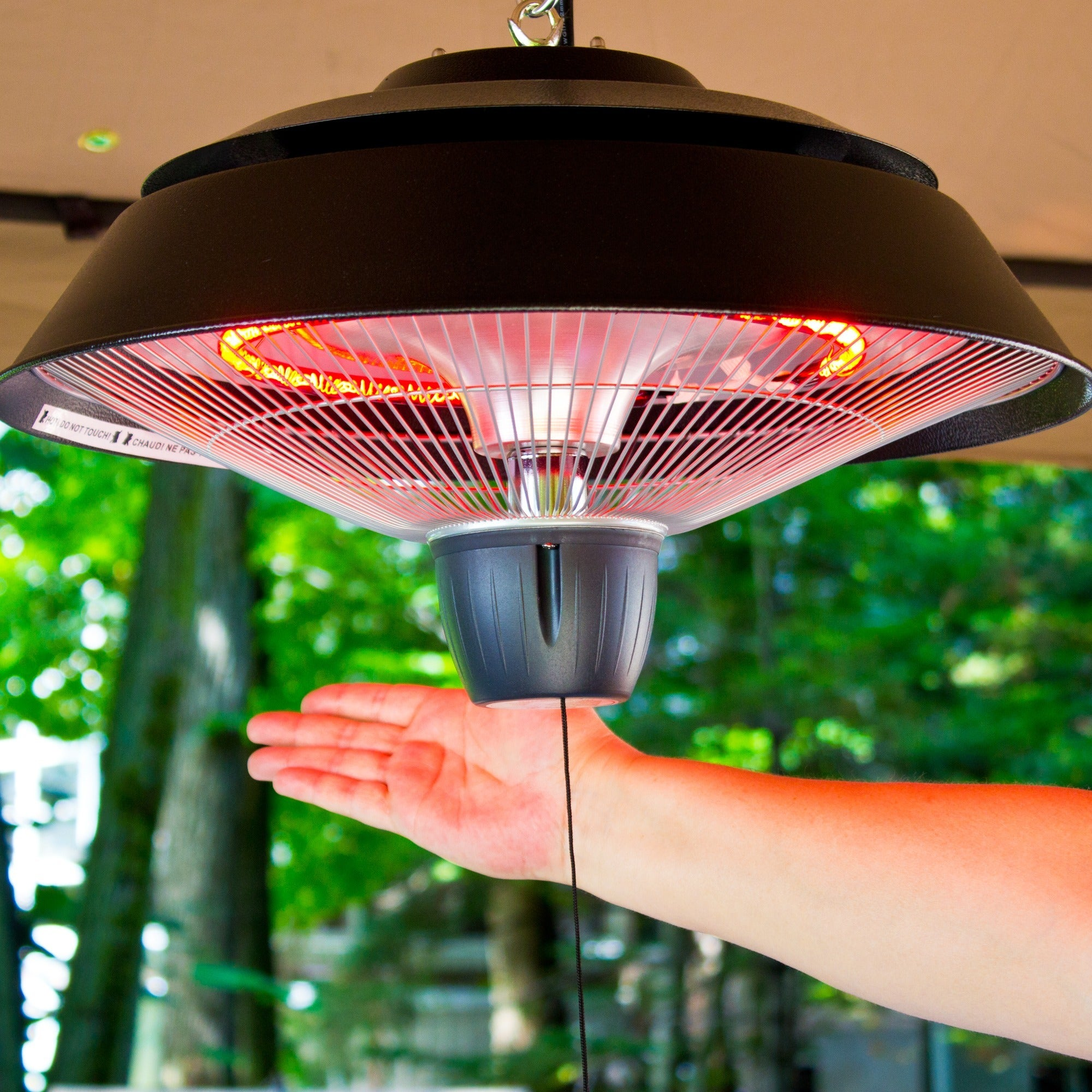 Charmant Shop EnerG+ Outdoor Hanging Infrared Patio Heater   Free Shipping Today    Overstock.com   9772622