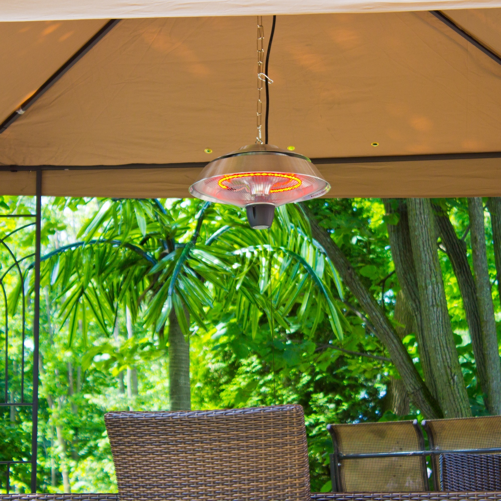 EnerG+ Outdoor Hanging Infrared Patio Heater   Free Shipping Today    Overstock   16942795