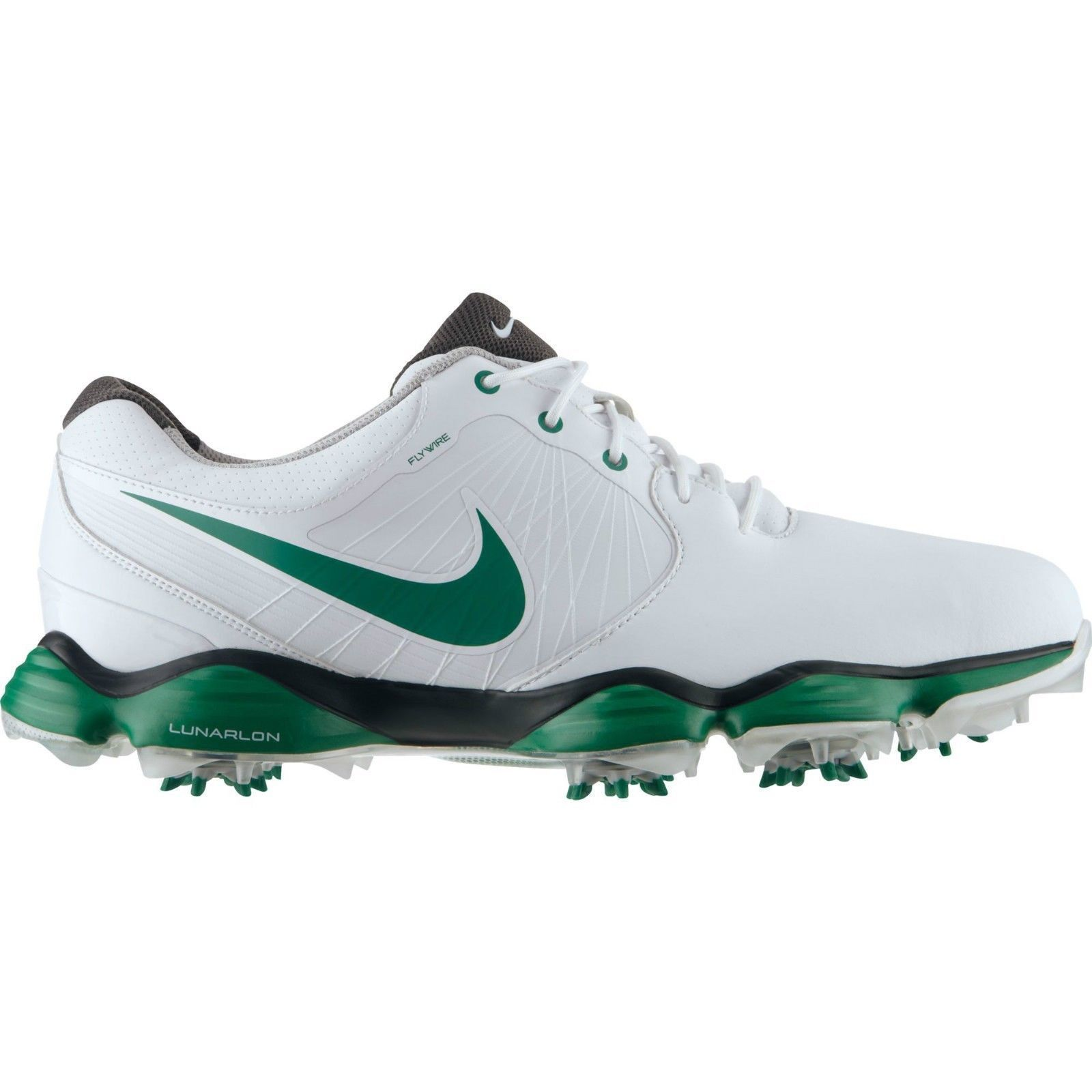 edaeeaf36a03 Shop Nike Men s Lunar Control II SL Limited Edition Masters White  Green Golf  Shoes - Free Shipping Today - Overstock - 9773019