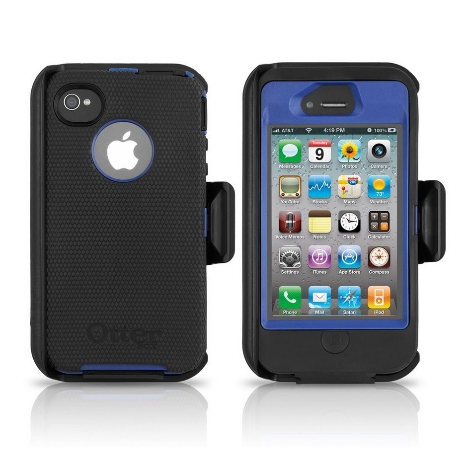 41aa5c8baa43b9 Shop OtterBox Case 77-18730 Night Sky Defender Series for Apple iPhone 4 4S  (Bulk Packaging) - Free Shipping On Orders Over  45 - Overstock - 9775290